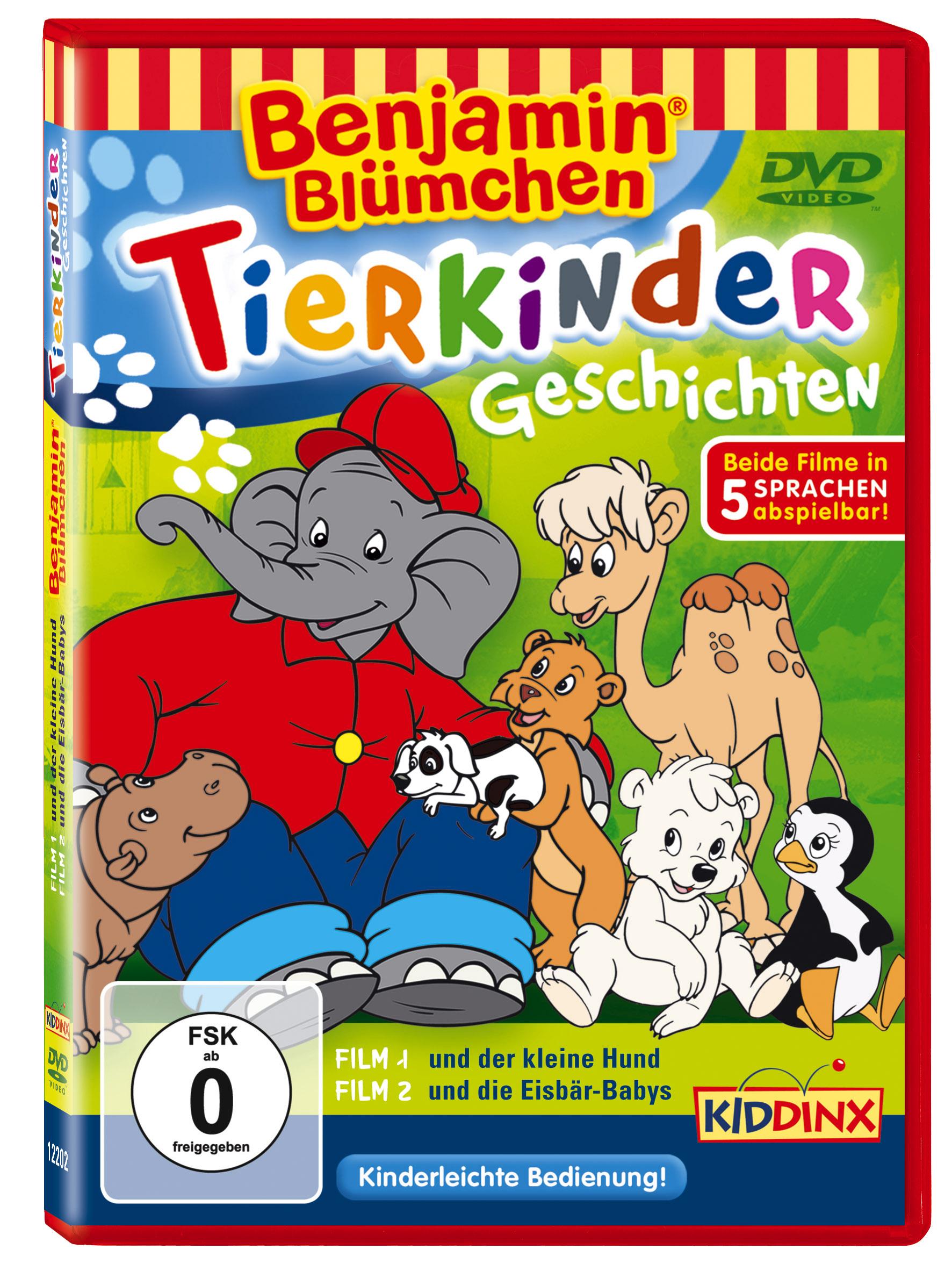 Benjamin Blümchen: Tierkinder-Geschichten