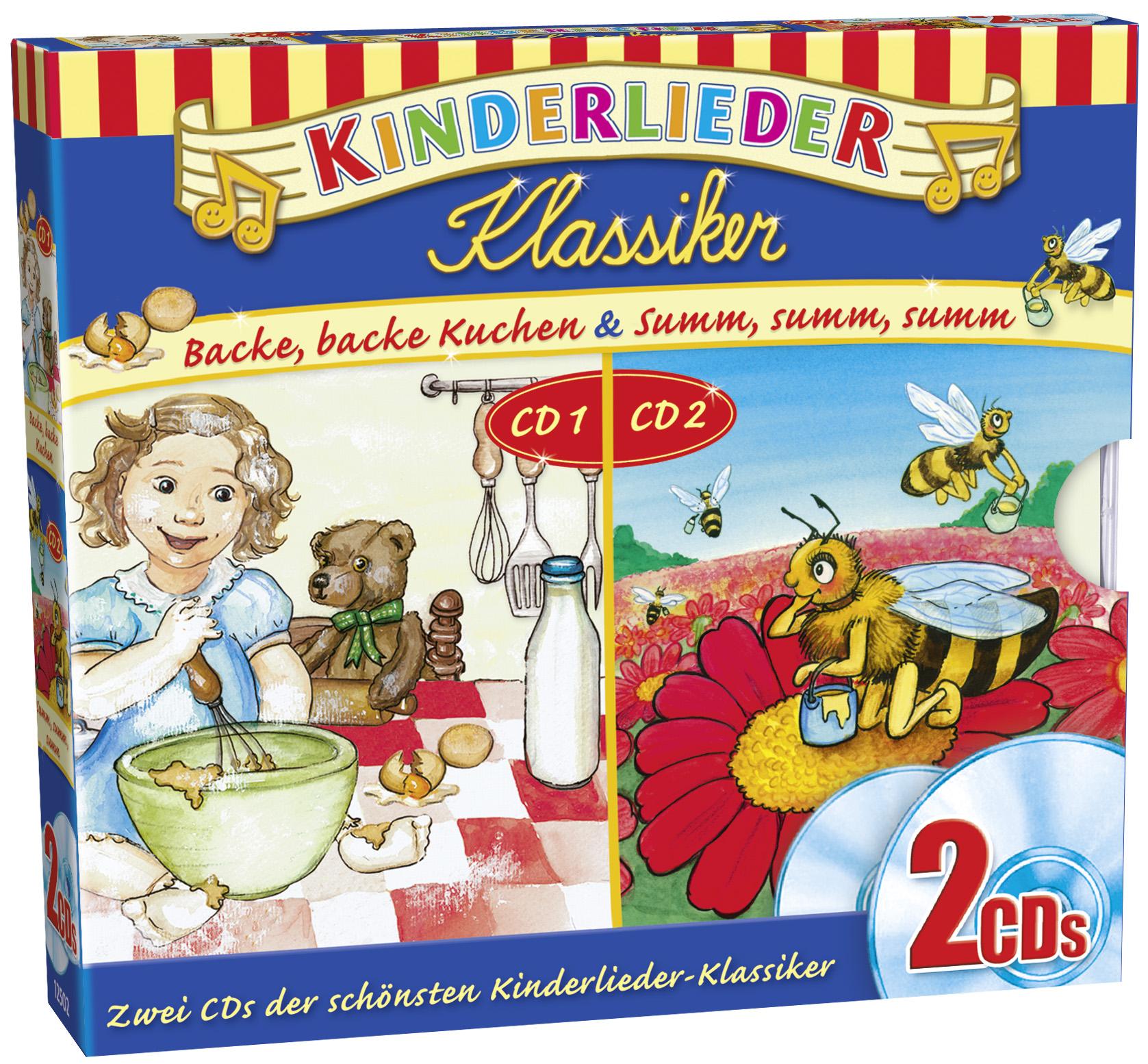 Kinderlieder Klassiker: 2er CD-Box