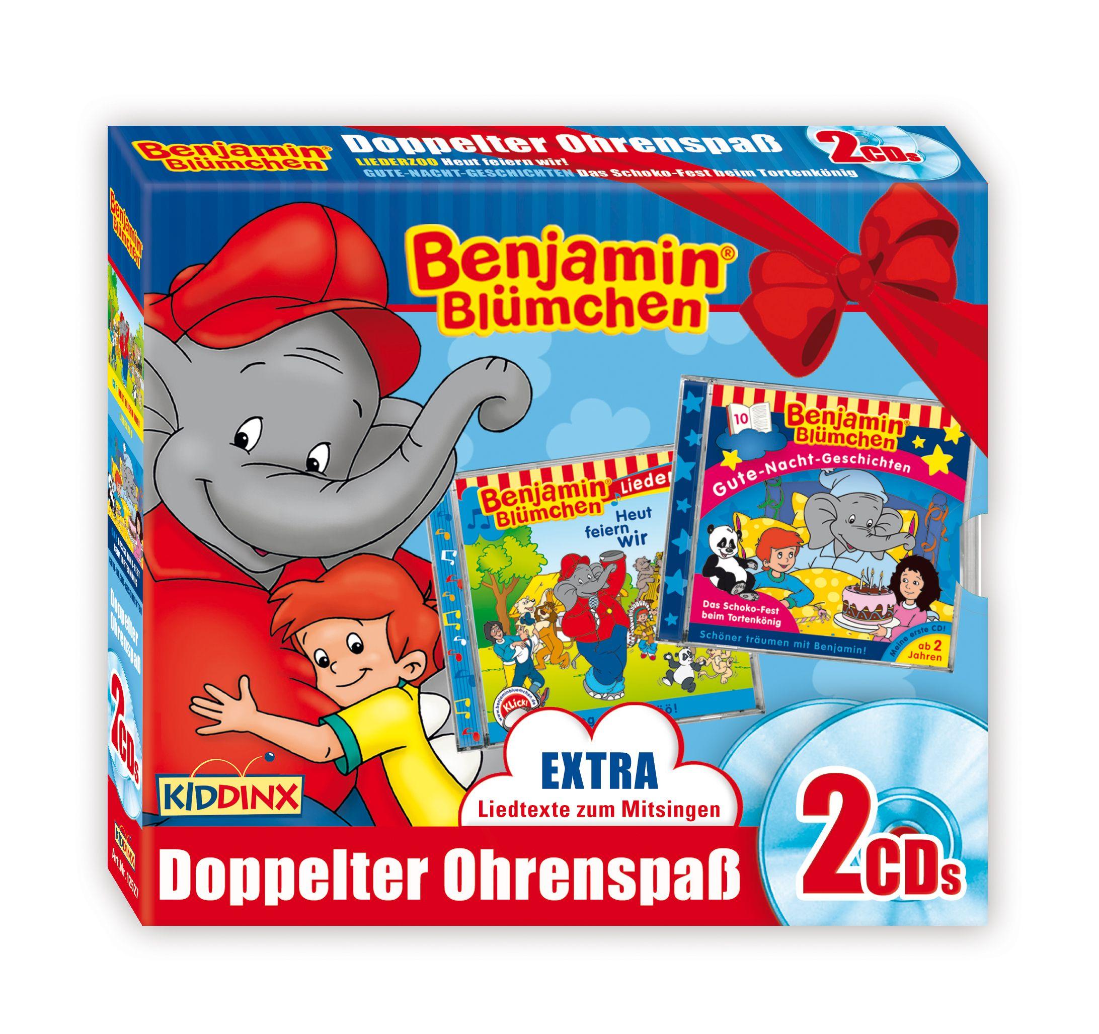 Benjamin Blümchen: 2er CD-Box (Doppelter Ohrens...