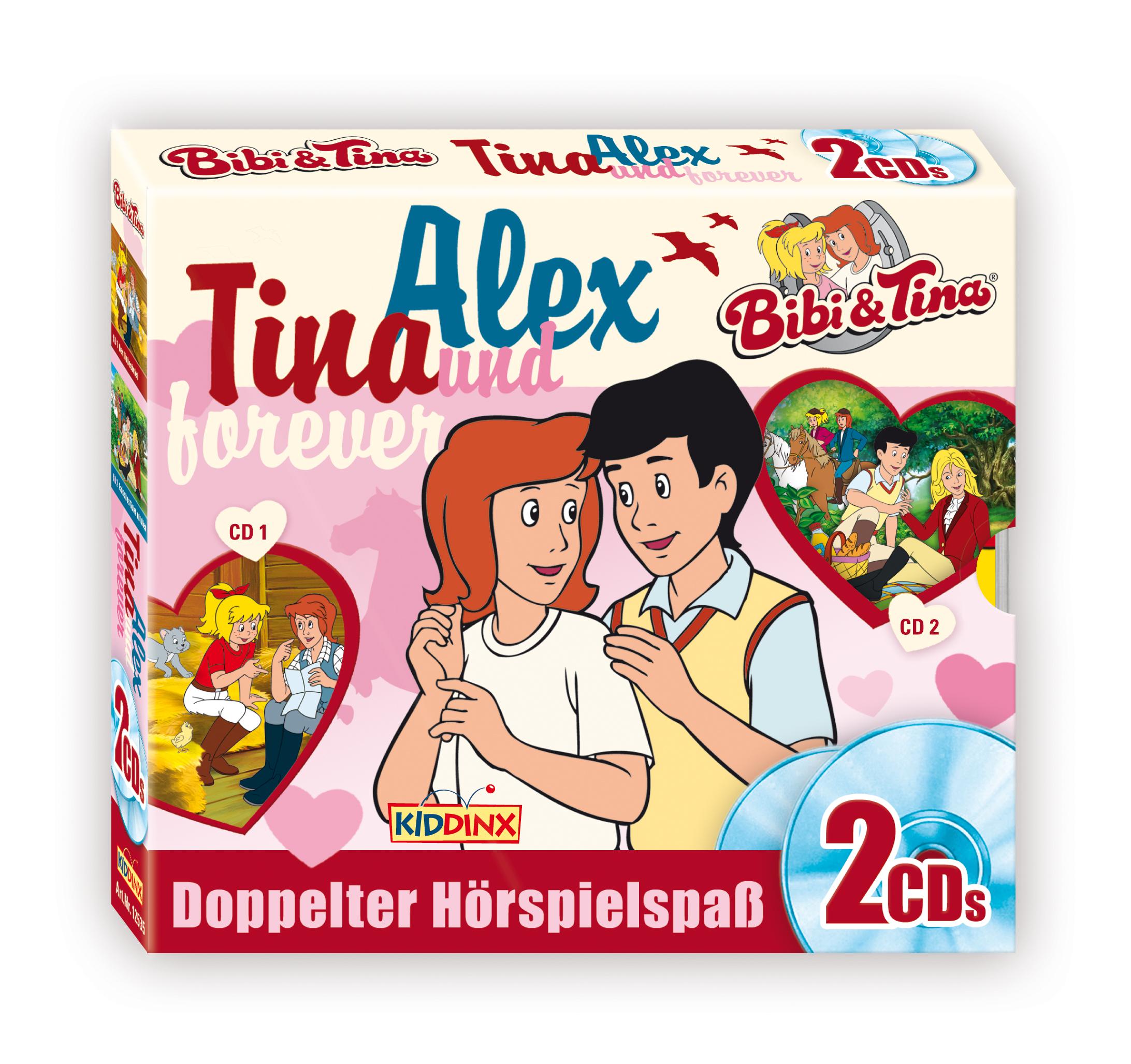 Bibi & Tina: 2er CD-Box (Tina und Alex forever )