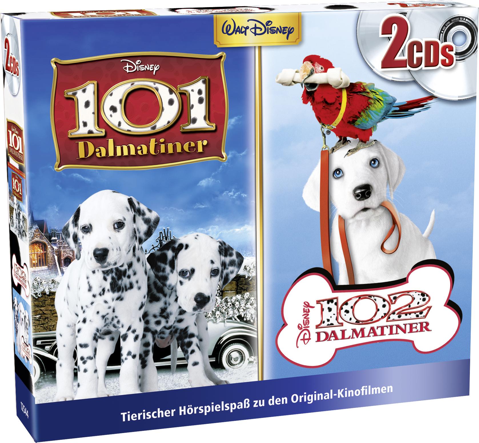 Disney: 2er CD-Box (101 & 102 Dalmatiner)
