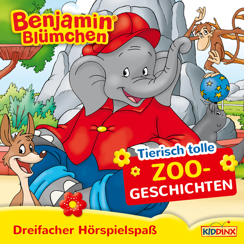 Benjamin Blümchen: 3er MP3-Download (Tierisch t...