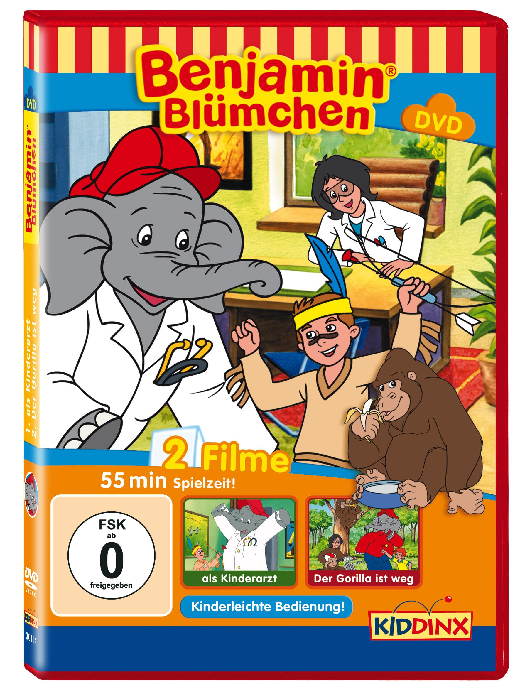 Benjamin Blümchen: ... als Kinderarzt / Der Gor...