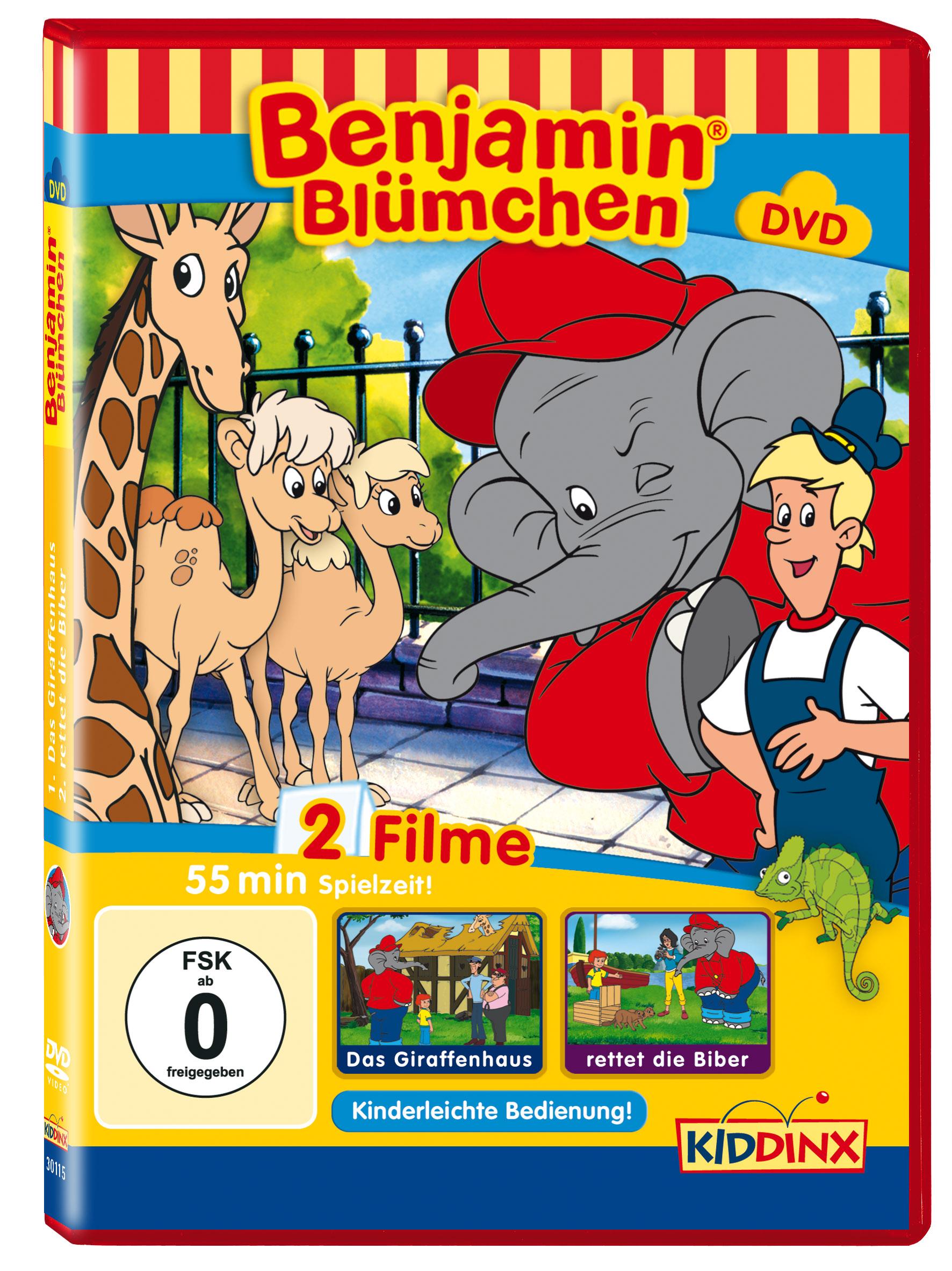 Benjamin Blümchen: Das Giraffenhaus / rettet di...