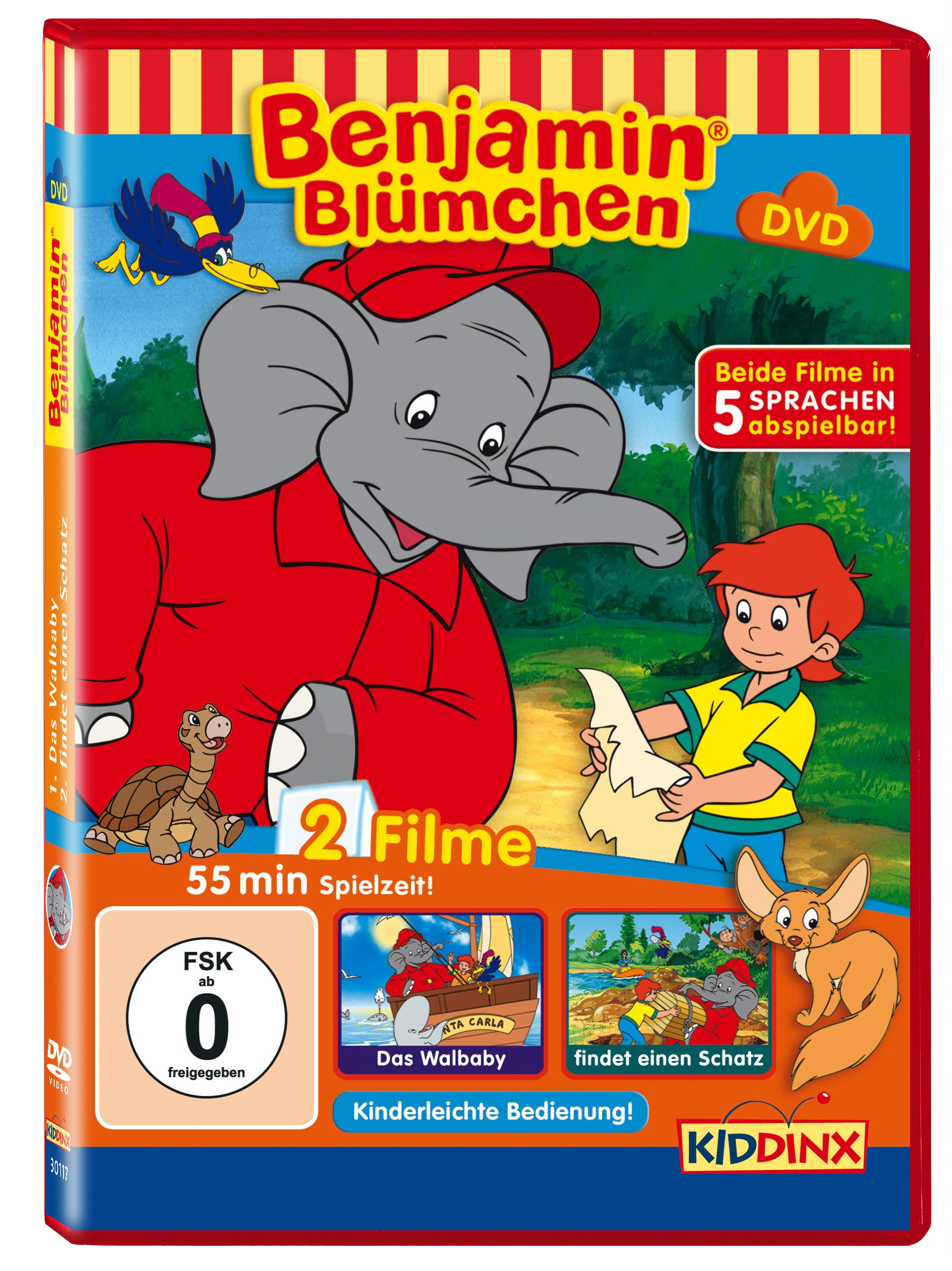 Benjamin Blümchen: Das Walbaby / ... findet ein...