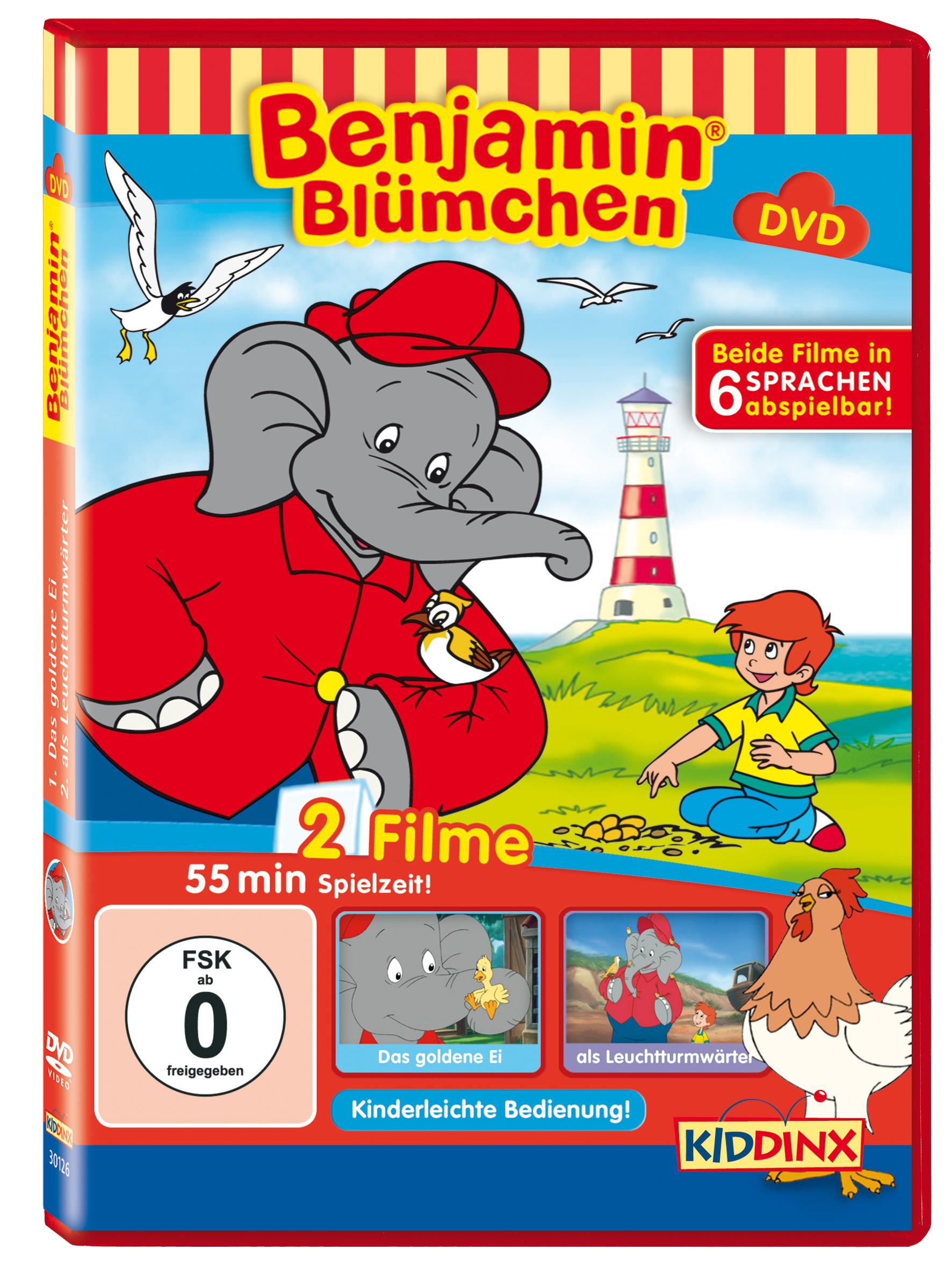 Benjamin Blümchen: Das goldene Ei / ... als Leu...