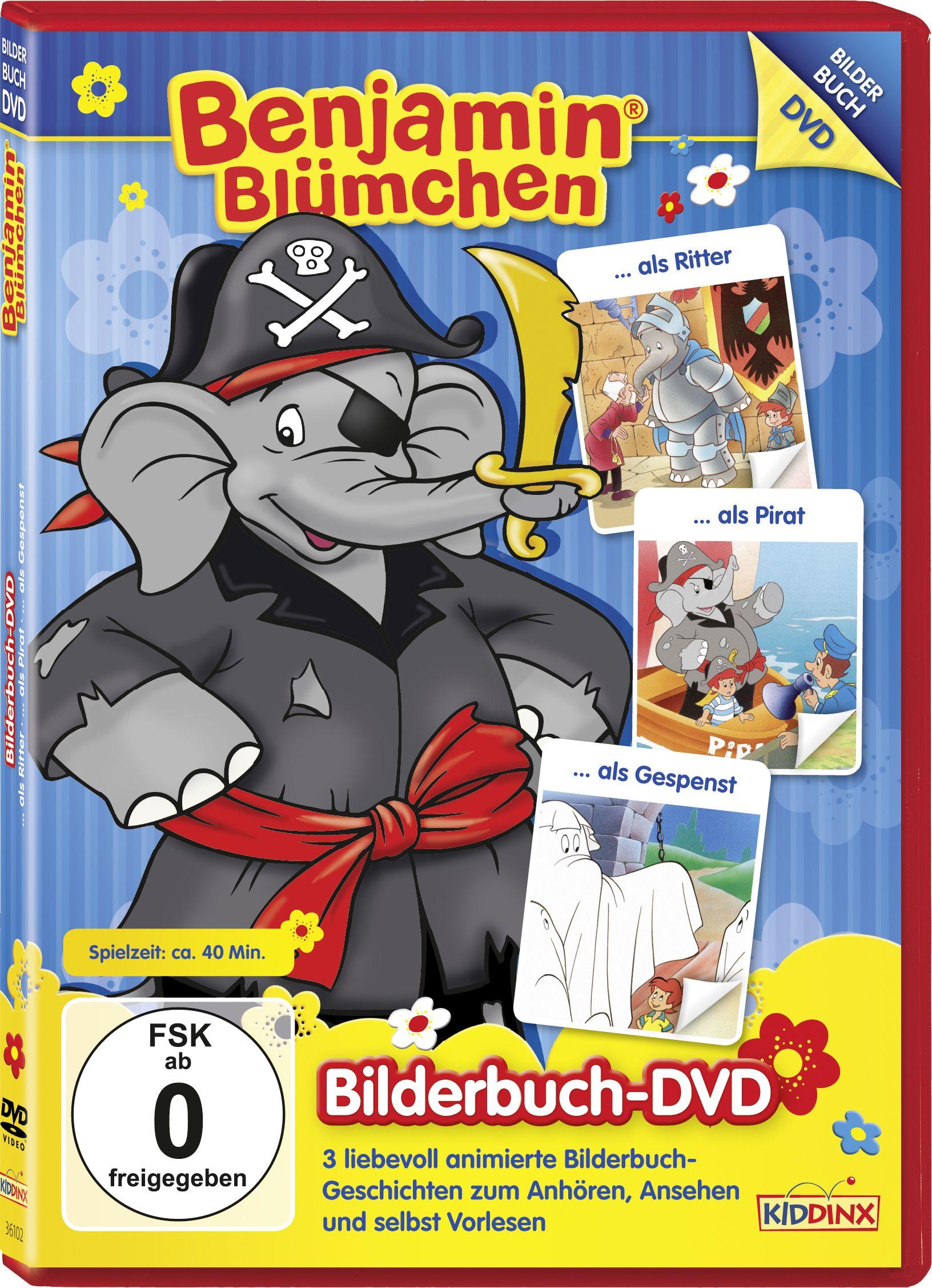 Benjamin Blümchen - Bilderbuch DVD 2