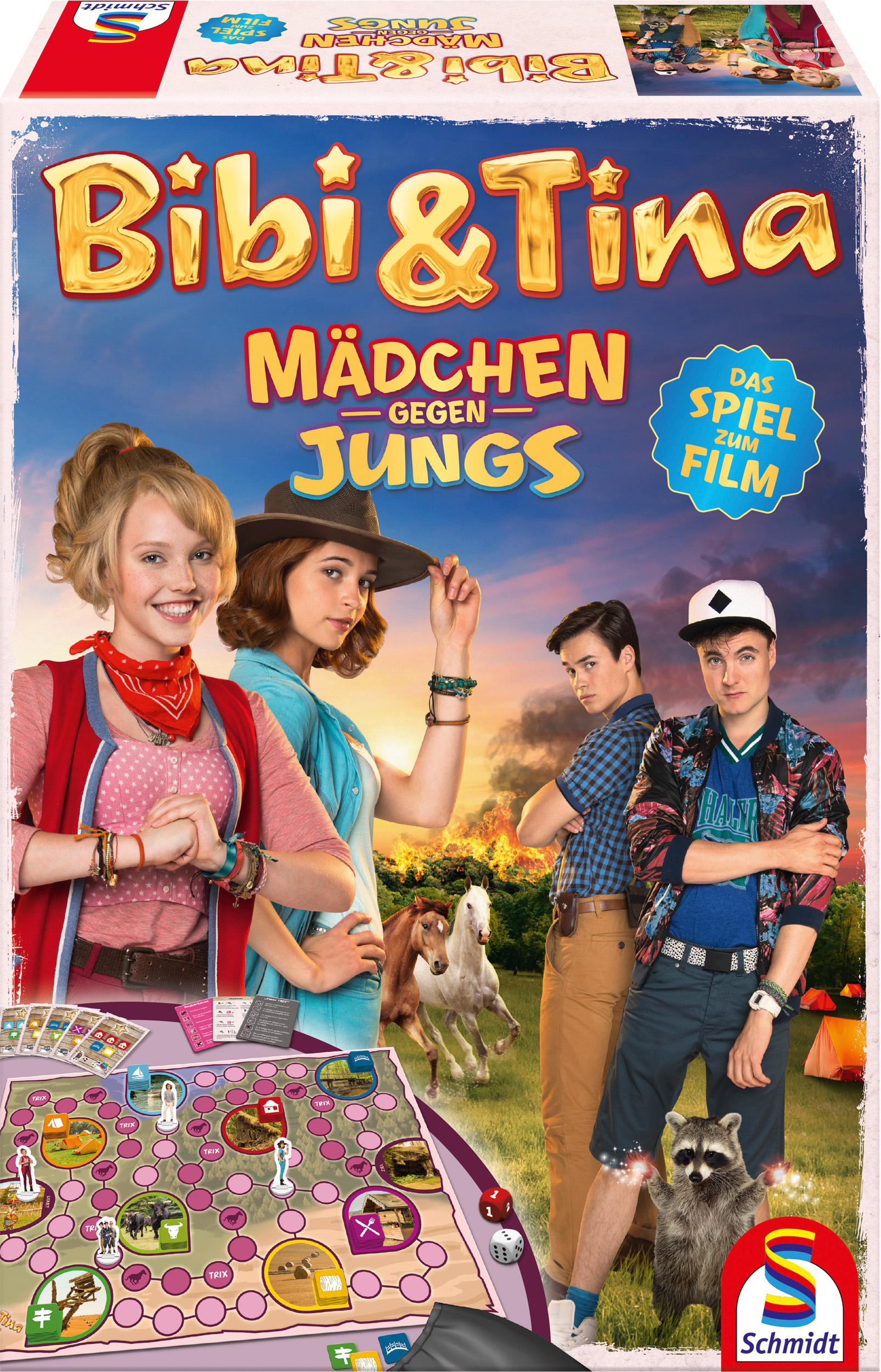 Bibi & Tina: Mädchen gegen Jungs - Das Spiel zu...