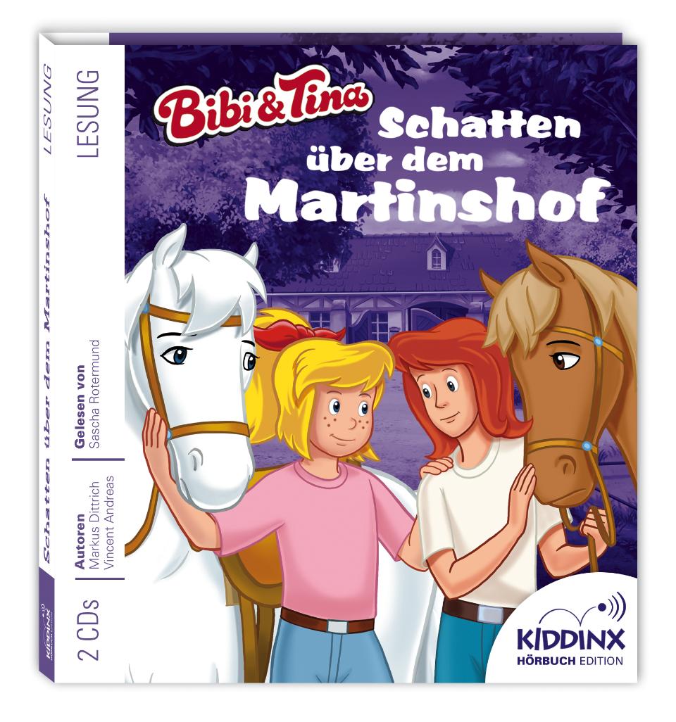 Bibi & Tina Hörbuch: Schatten über dem Martinshof