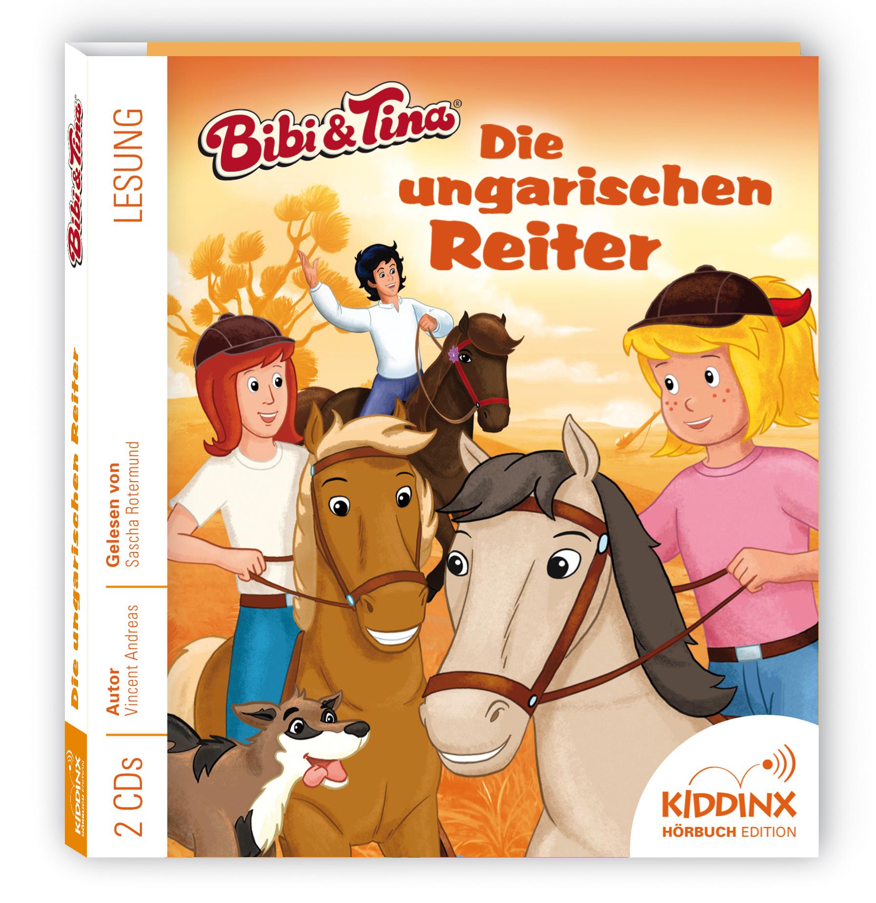 Bibi & Tina Hörbuch: Die ungarischen Reiter