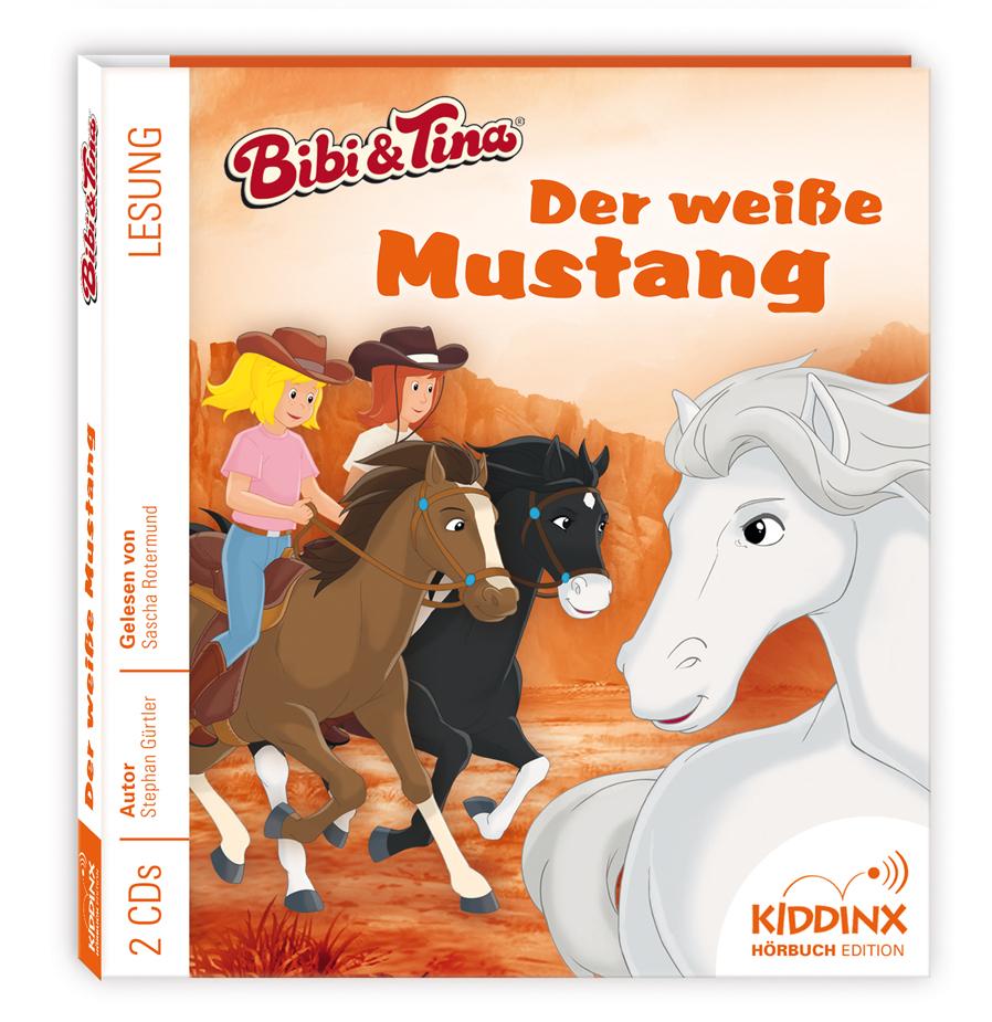 Bibi & Tina Hörbuch: Der weiße Mustang