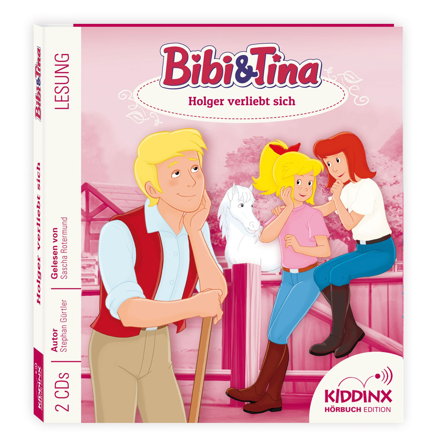 Bibi & Tina Hörbuch: Holger verliebt sich