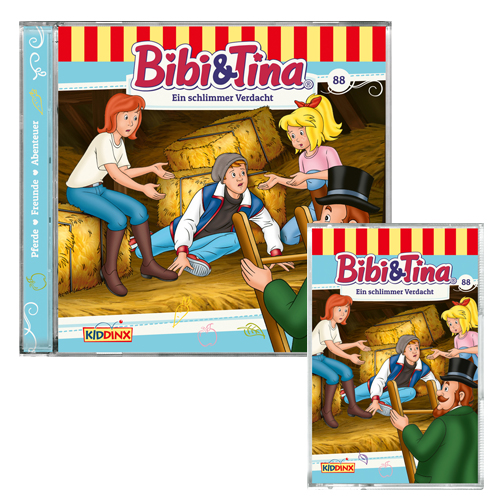2 x 150 Puzzle Teile im Metallkoffer Spiel Bibi & Tina 2 x 100 Bibi & Tina
