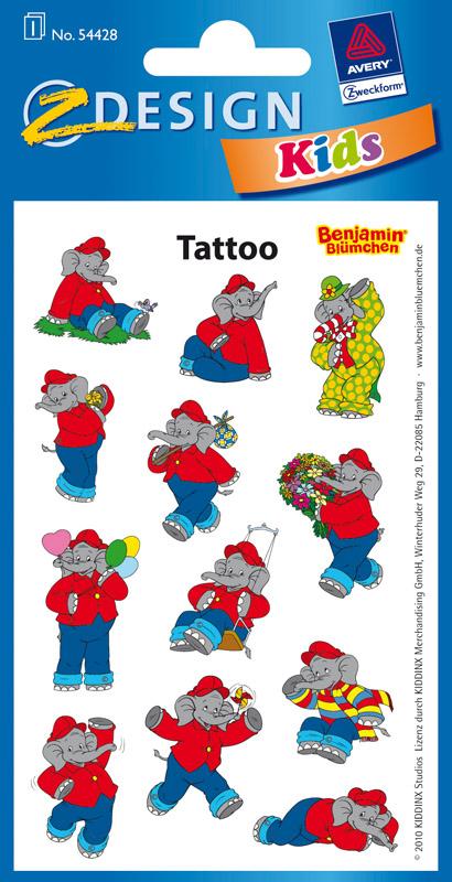 Tattoos Benjamin Blümchen