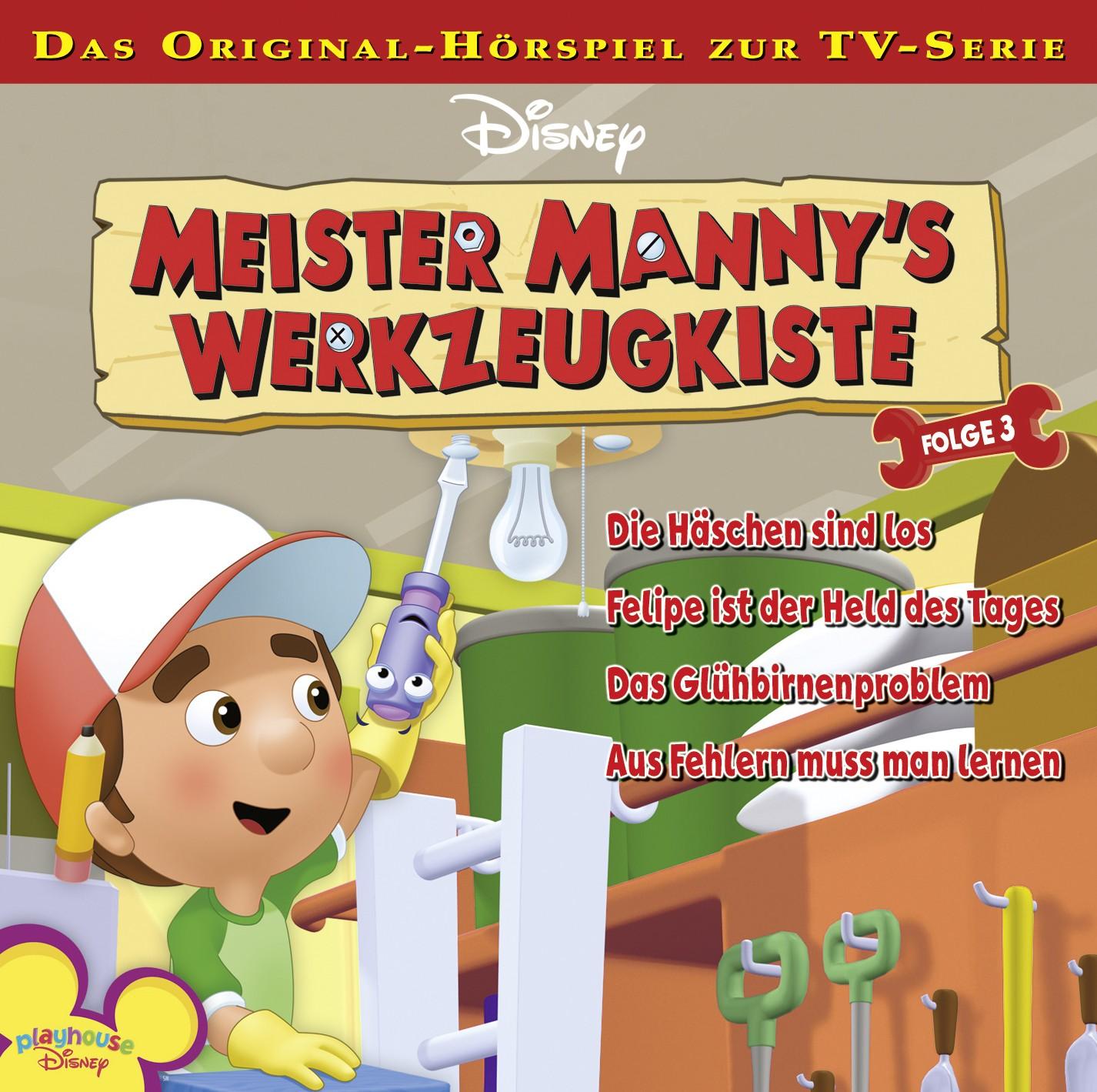 Meister Manny´s Werkzeugkiste: Die Häschen sind...
