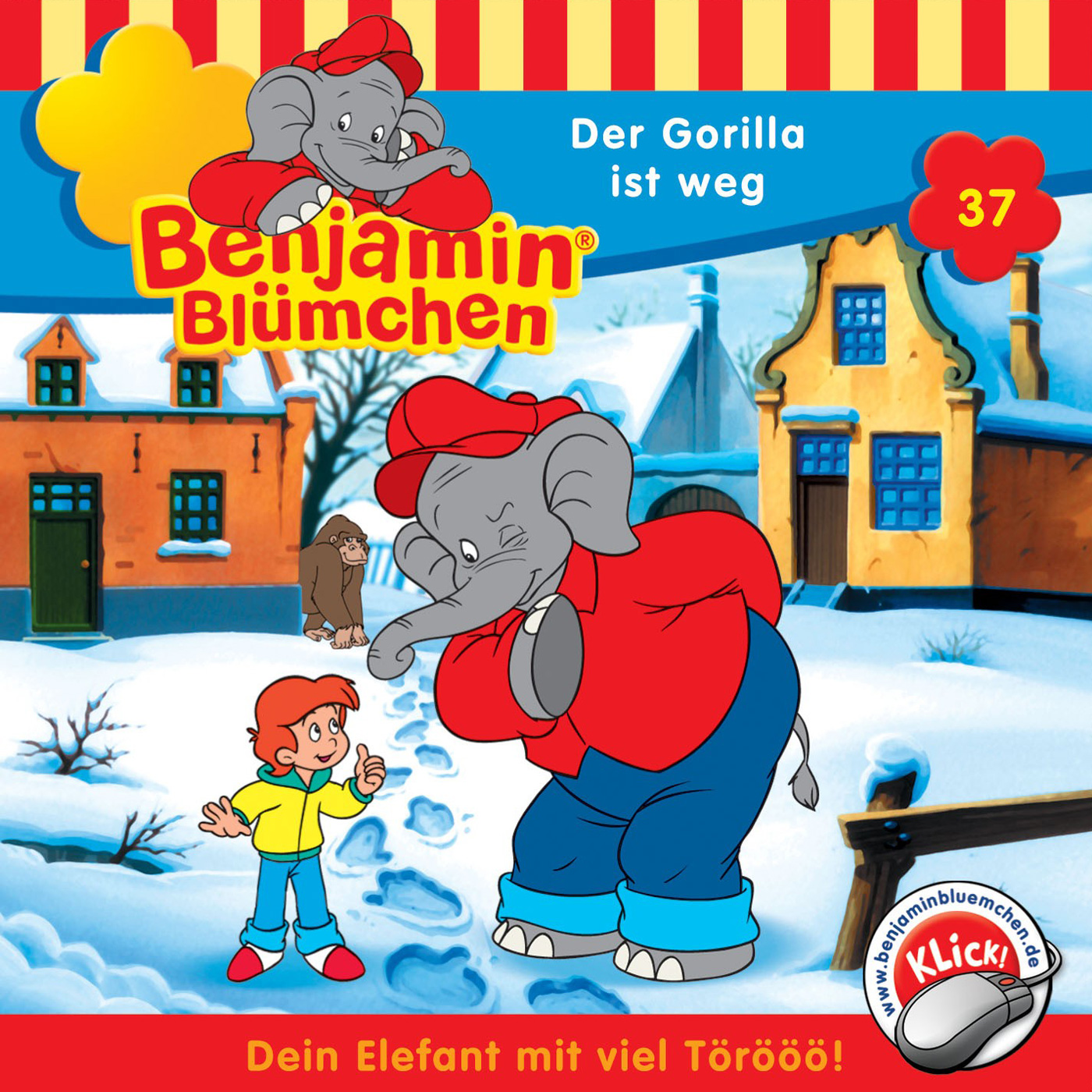 Benjamin Blümchen: Der Gorilla ist weg (Folge 37)