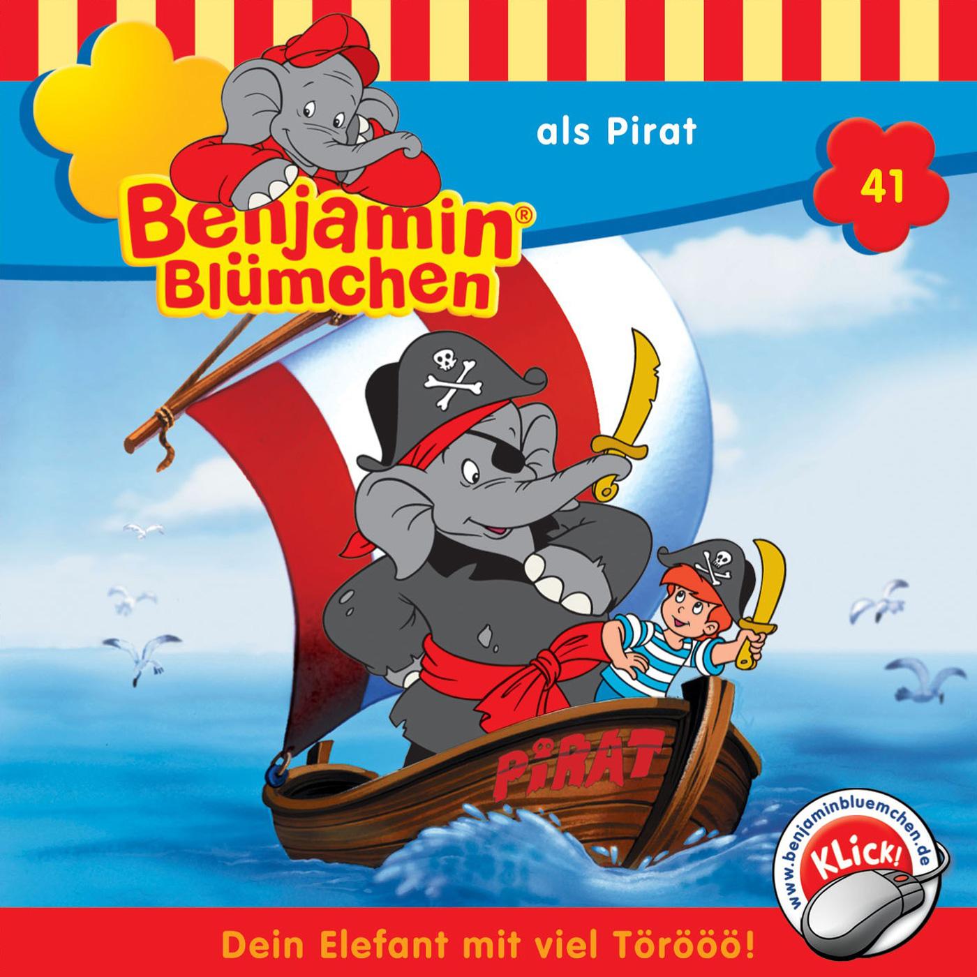 Benjamin Blümchen … als Pirat (Folge 41)