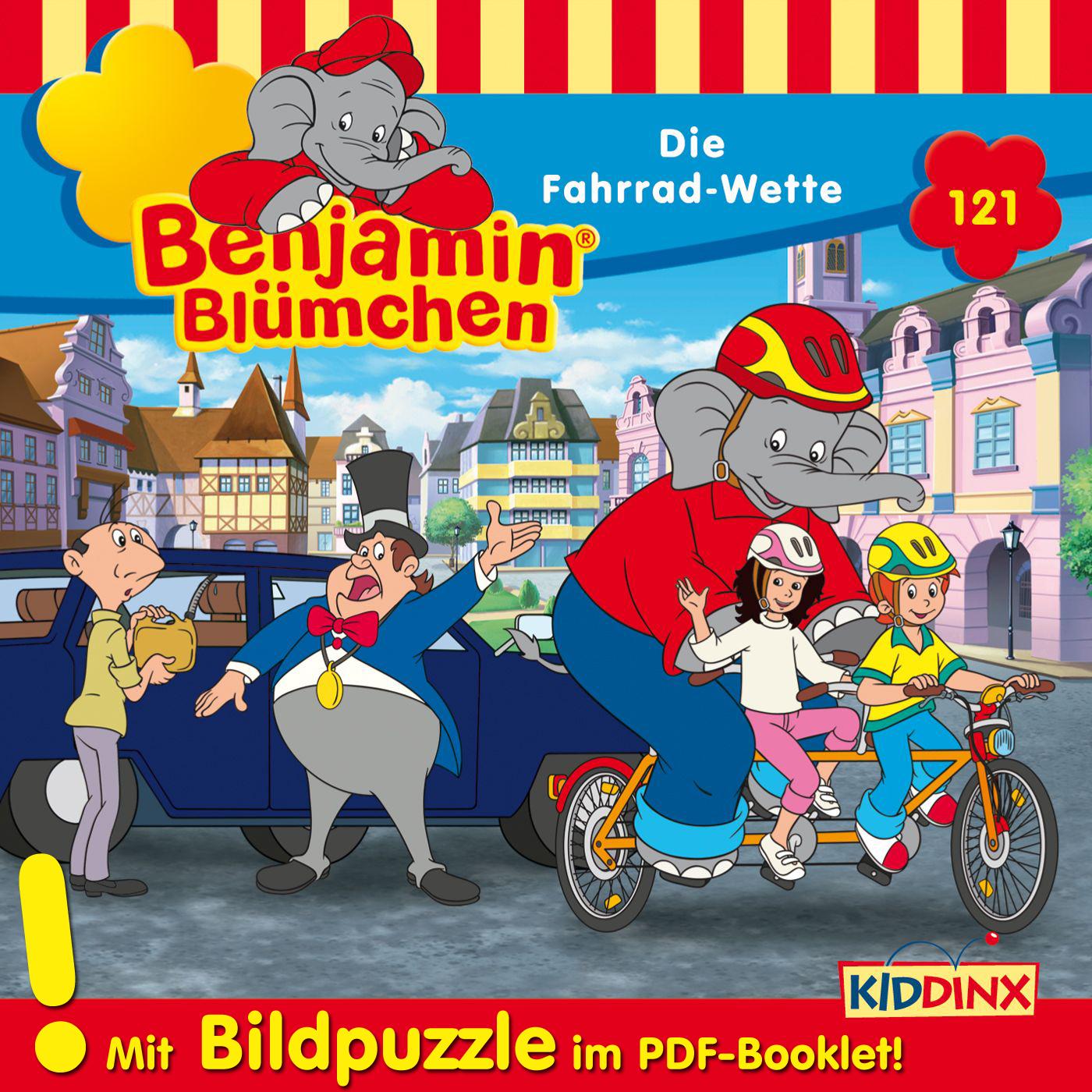 Benjamin Blümchen: Die Fahrrad-Wette (Folge 121)