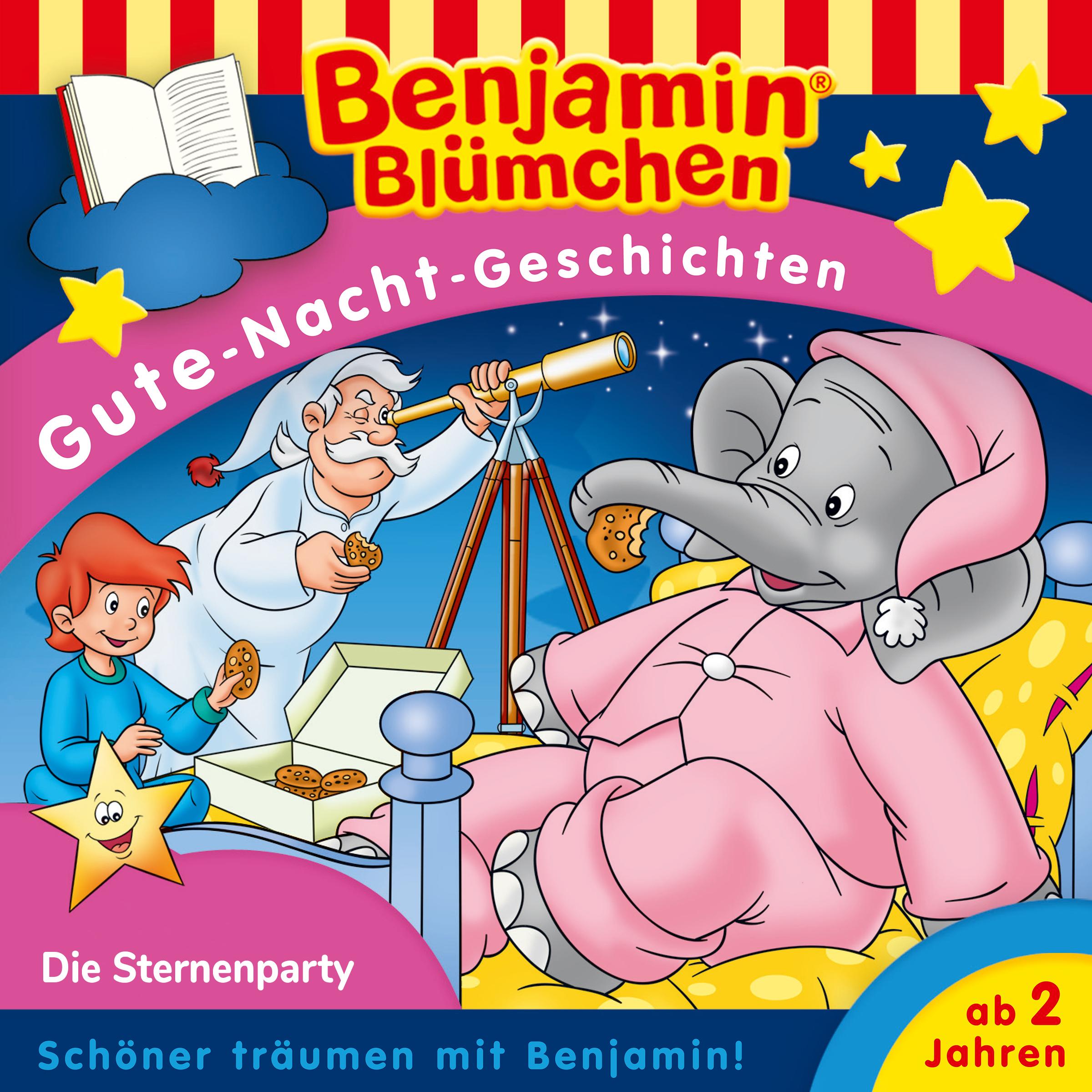 Benjamin Blümchen: Die Sternenparty (Gute-Nacht-Geschichte)