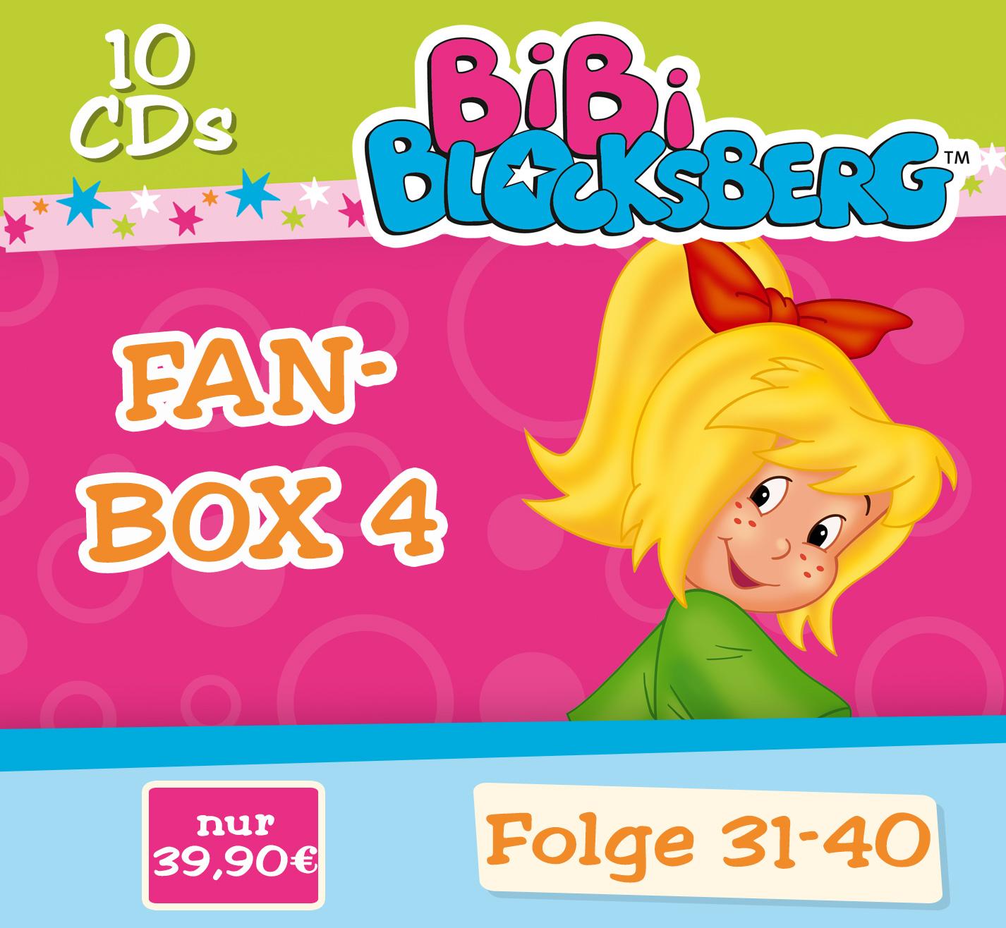 Bibi Blocksberg: 10er CD-Box (Fan-Box - Folge 3...