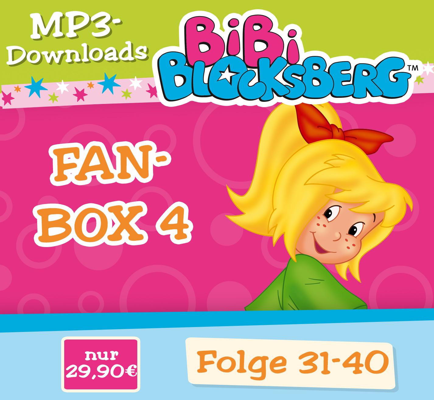 Bibi Blocksberg: 10er MP3-Bundle (Fan-Box - Fol...