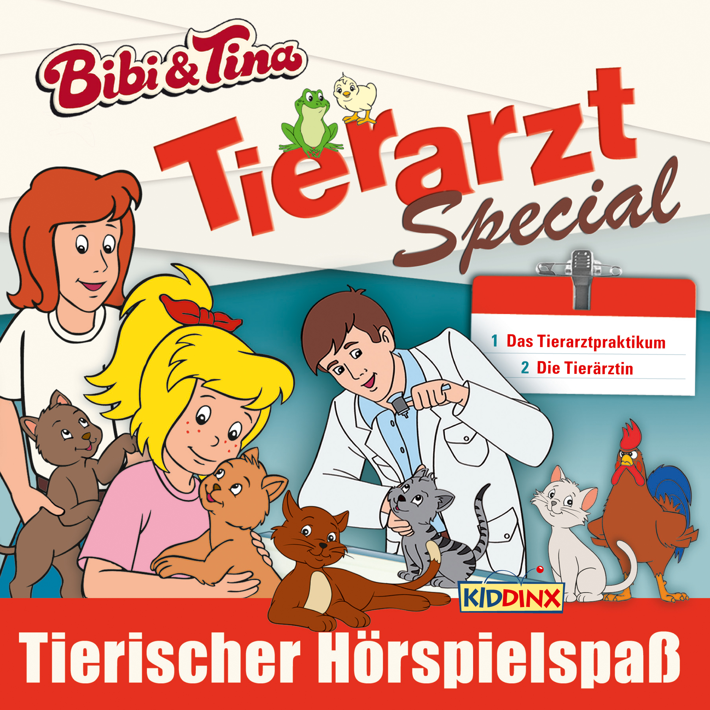 Bibi & Tina: 2er MP3-Download (Tierarzt-Special)