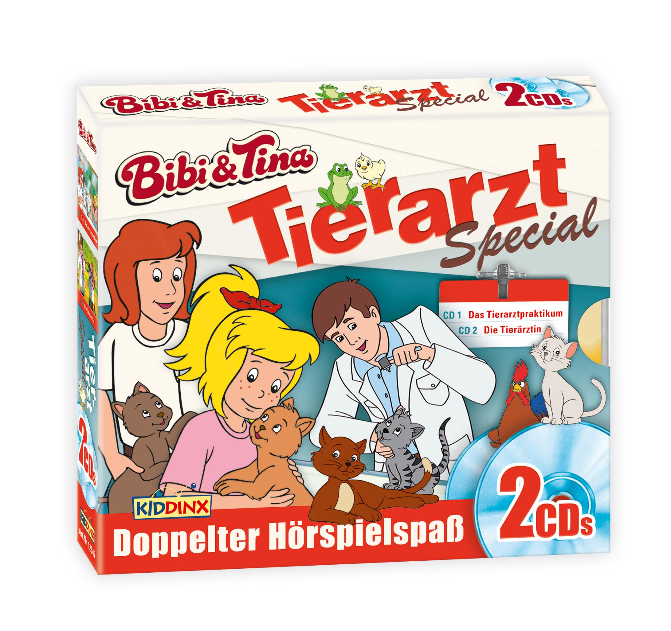 Bibi & Tina: 2er CD-Box (Tierarzt-Special)