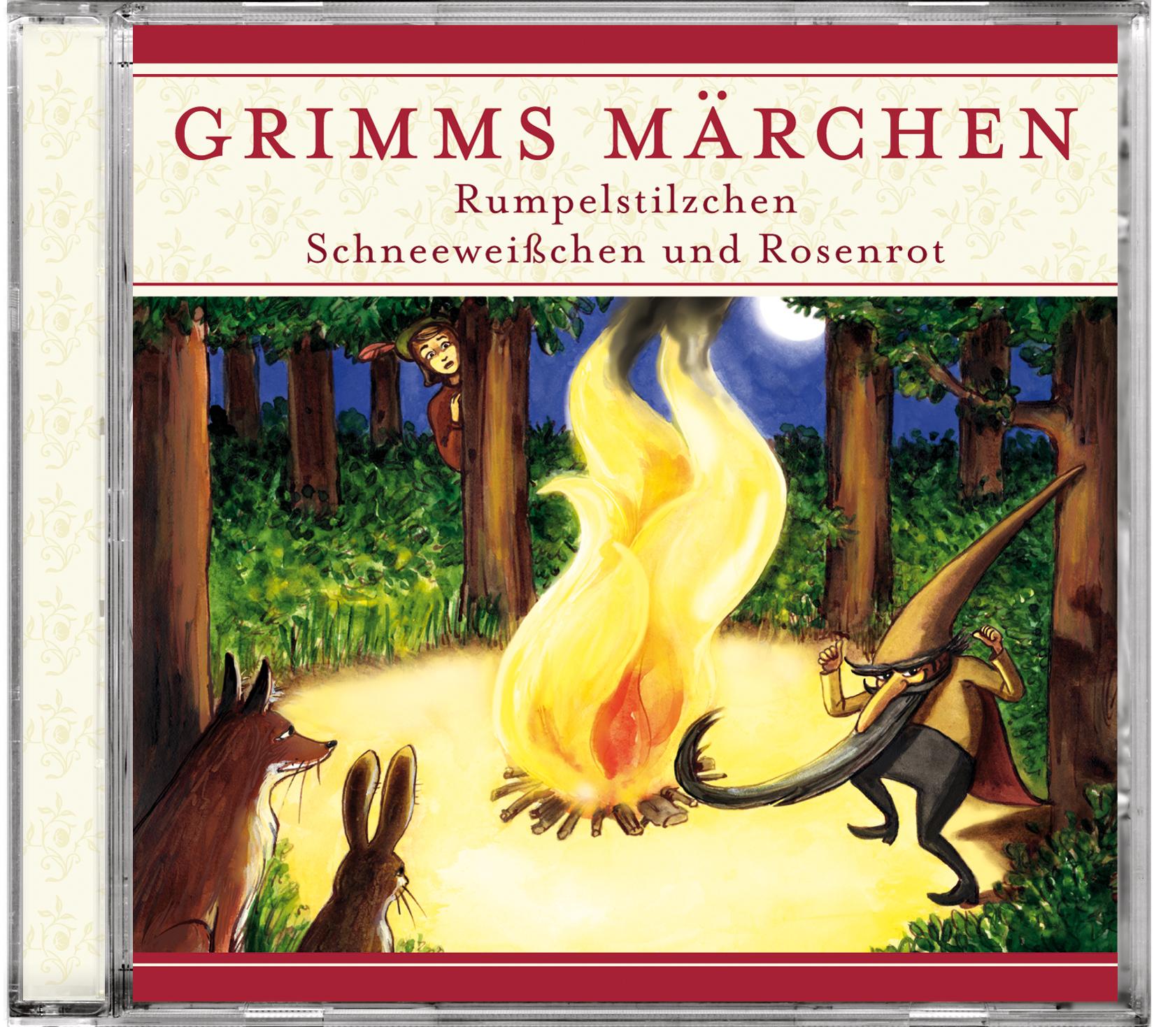 Grimms Märchen: Rumpelstilzchen / Schneeweißche...