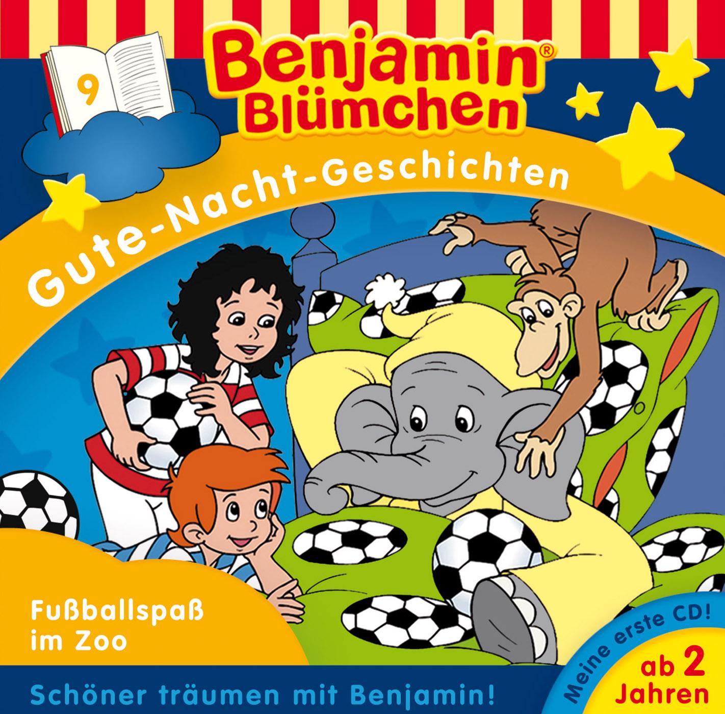 Benjamin Blümchen Fußballspaß im Zoo (Folge 9)