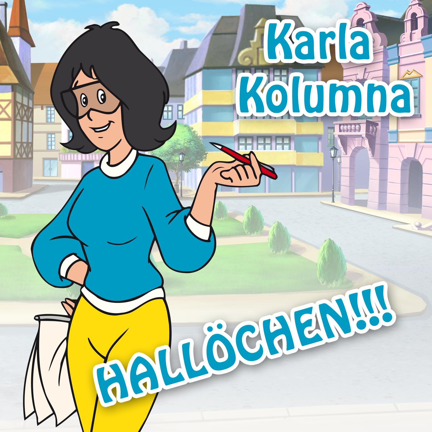SMS-Ton Karla Kolumna Hallöchen