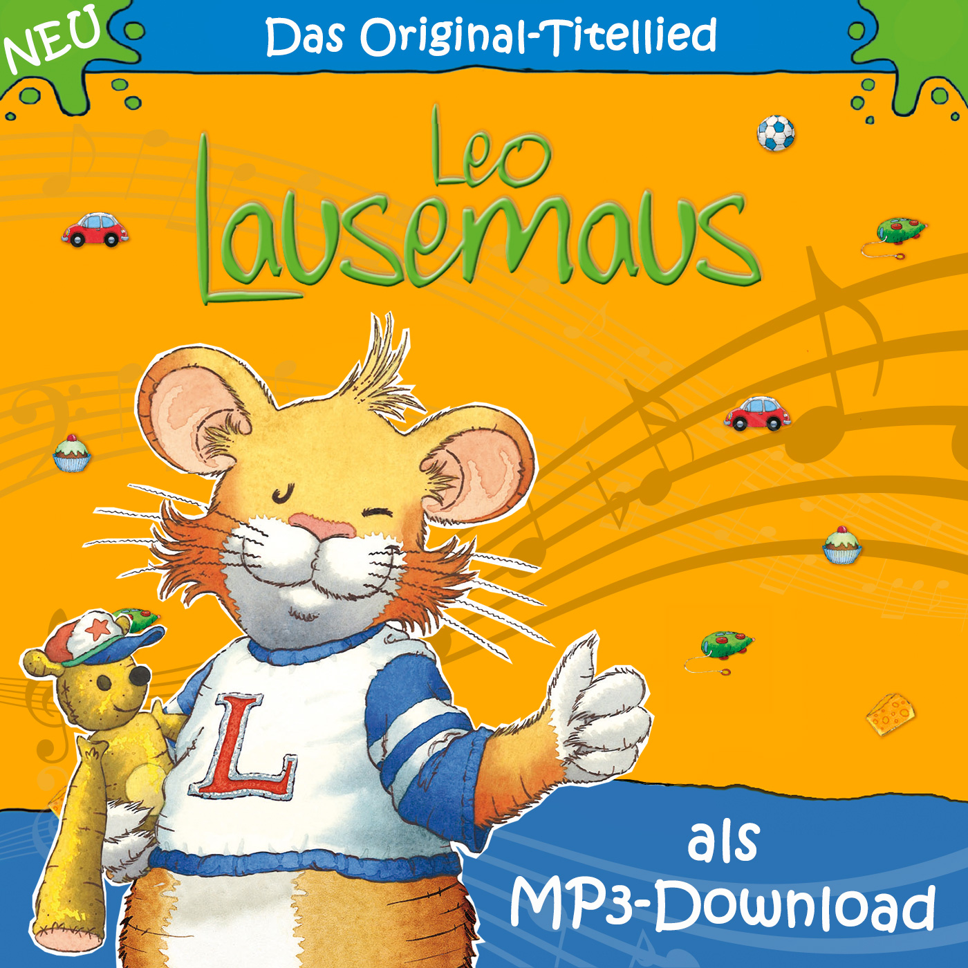 Leo Lausemaus: Titellied (MP3-Download)