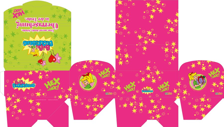 Vorschaubild von Bibi Blocksberg Geschenkbox (flach, liegend)