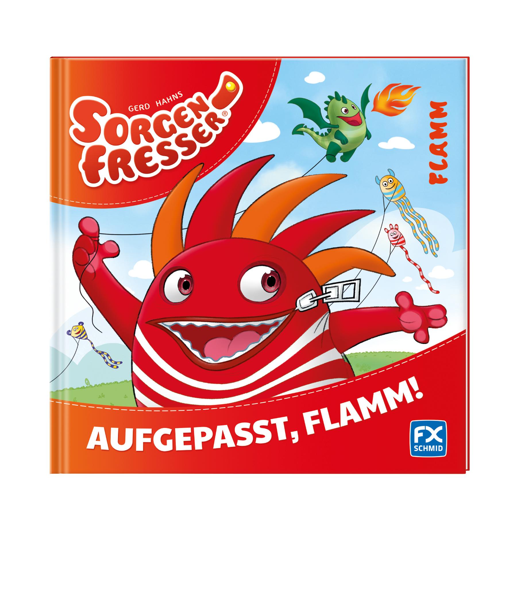 Sorgenfresser: Aufgepasst, Flamm! (Buch, EBook,...