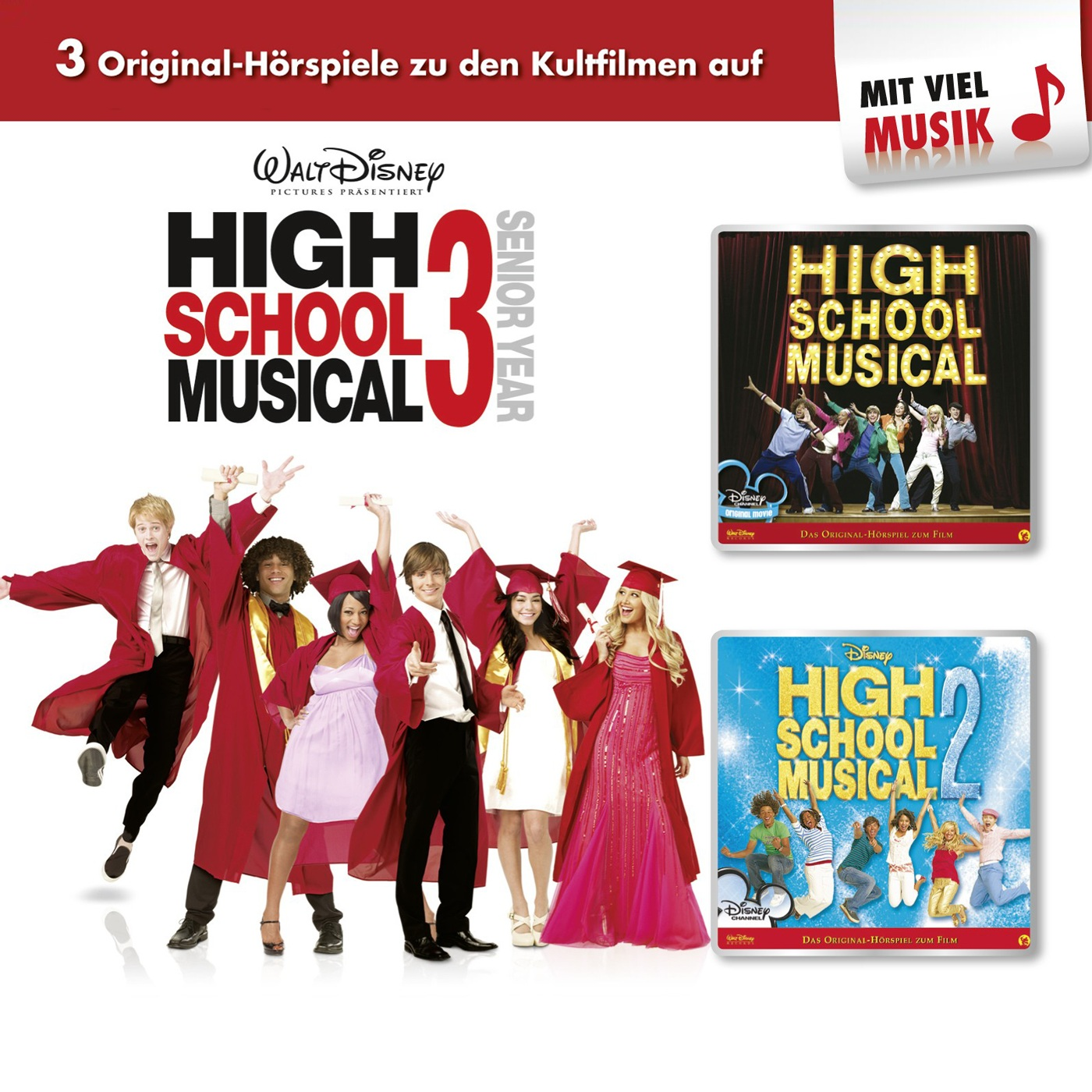 Disney: 3er MP3-Box High School Musical (Folge ...
