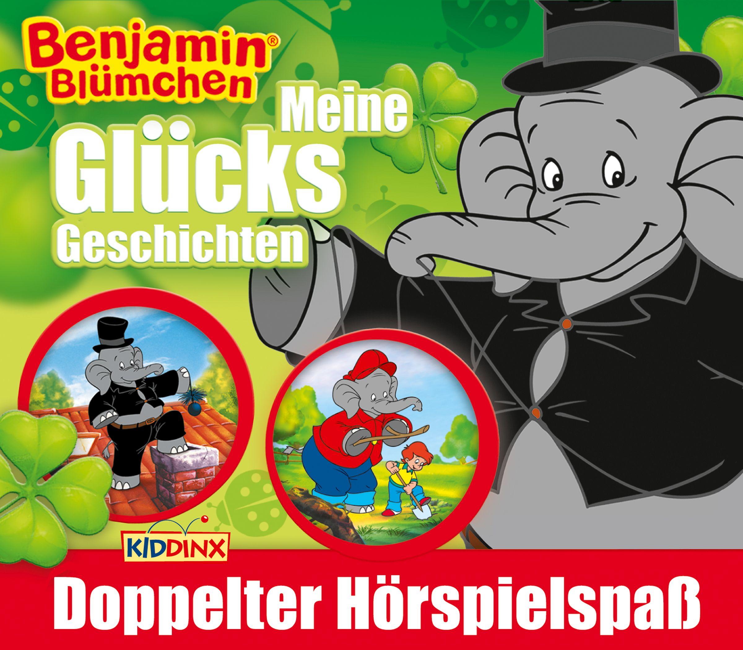 Benjamin Blümchen: 2er MP3-Box Glücks-Geschichten