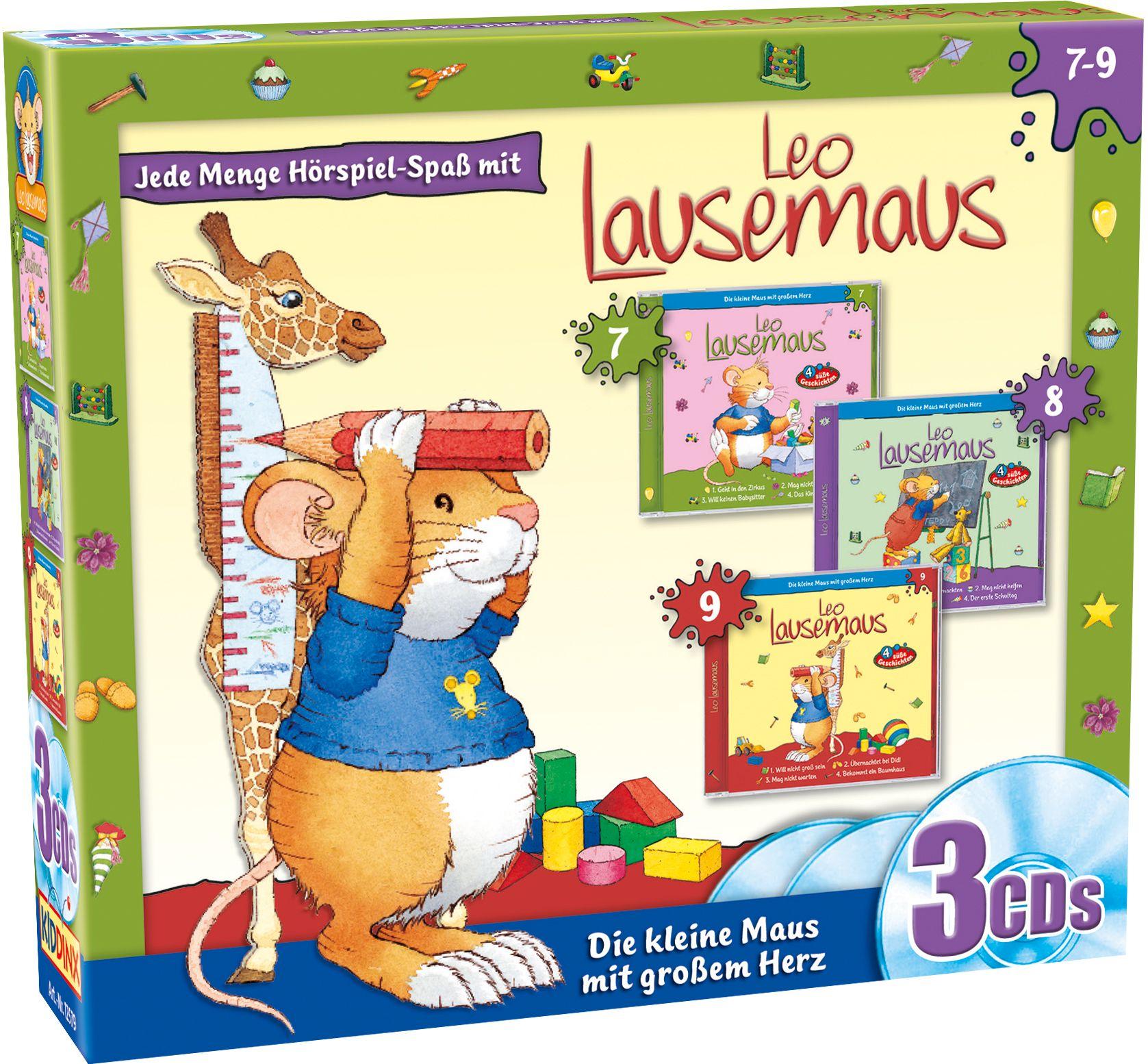Leo Lausemaus 3er Box (Folge 7 – 9)