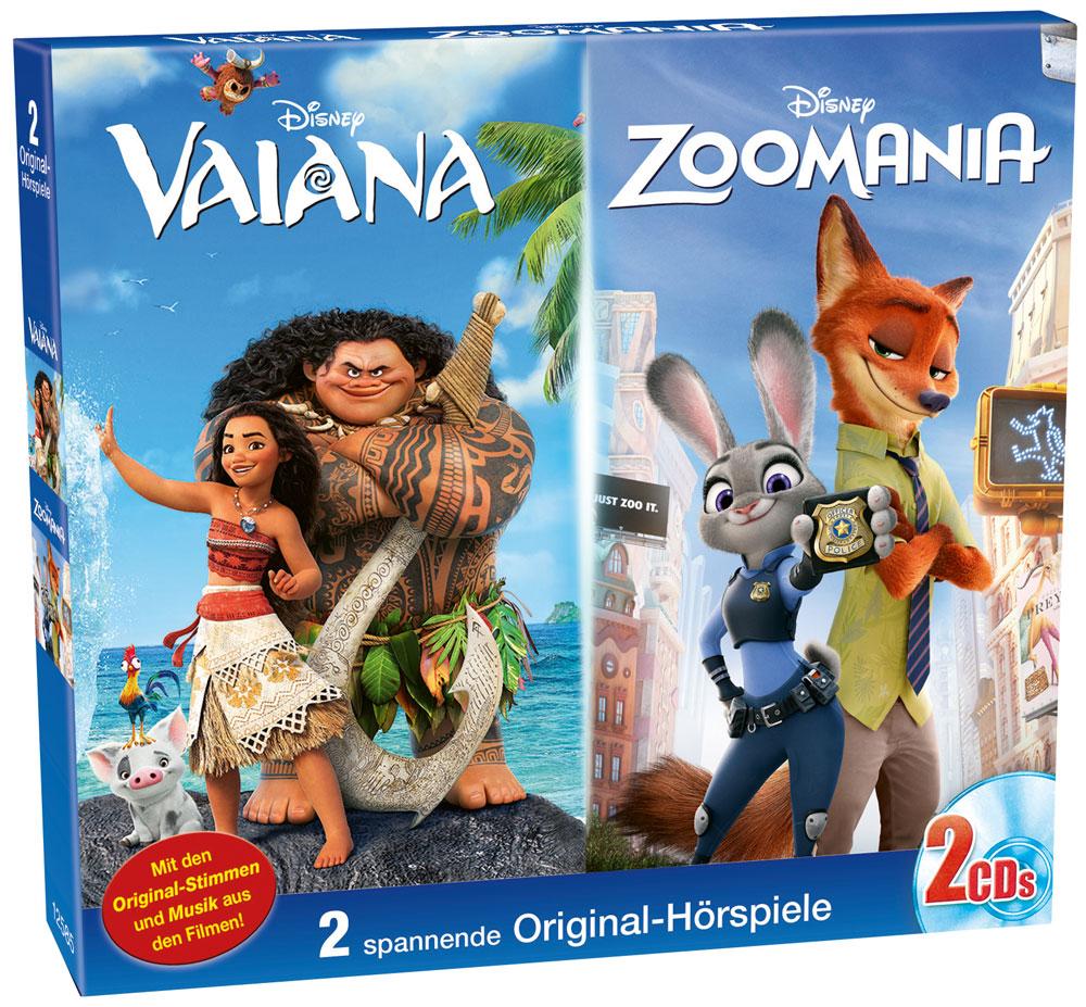 Disney 2er Box Vaiana Zoomania