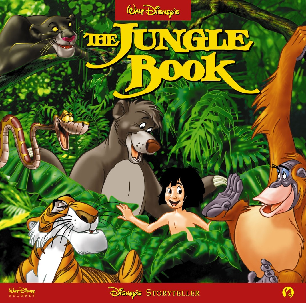 Disney: The Jungle Book - English (MP3-Download)