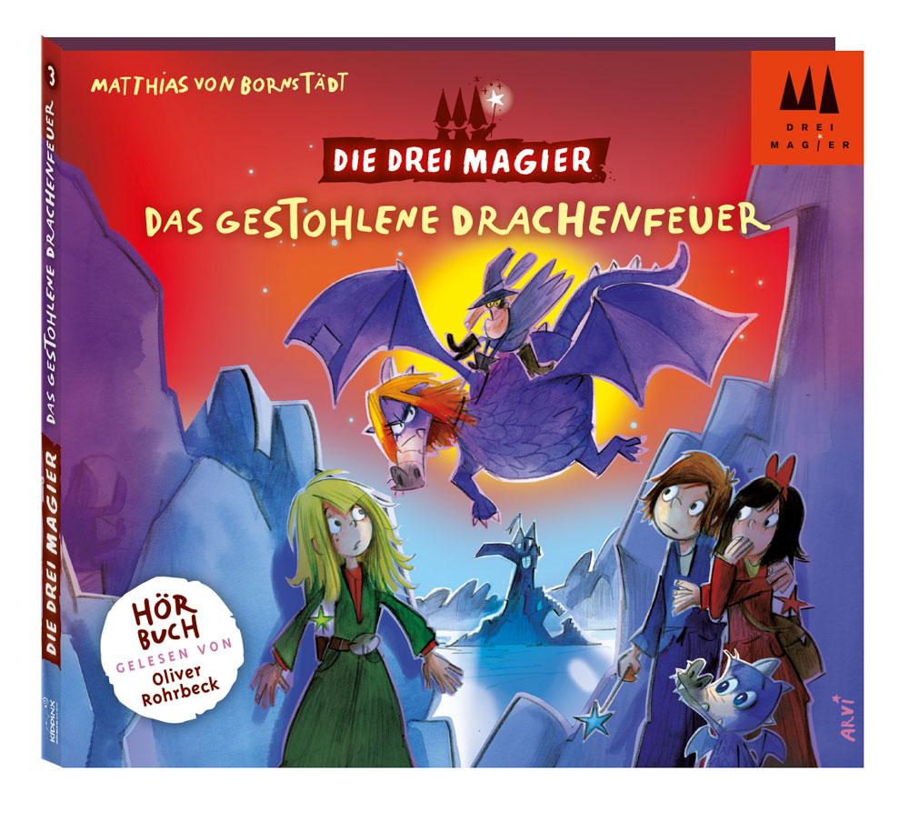 Die Drei Magier: Hörbuch Das gestohlene Drachen...