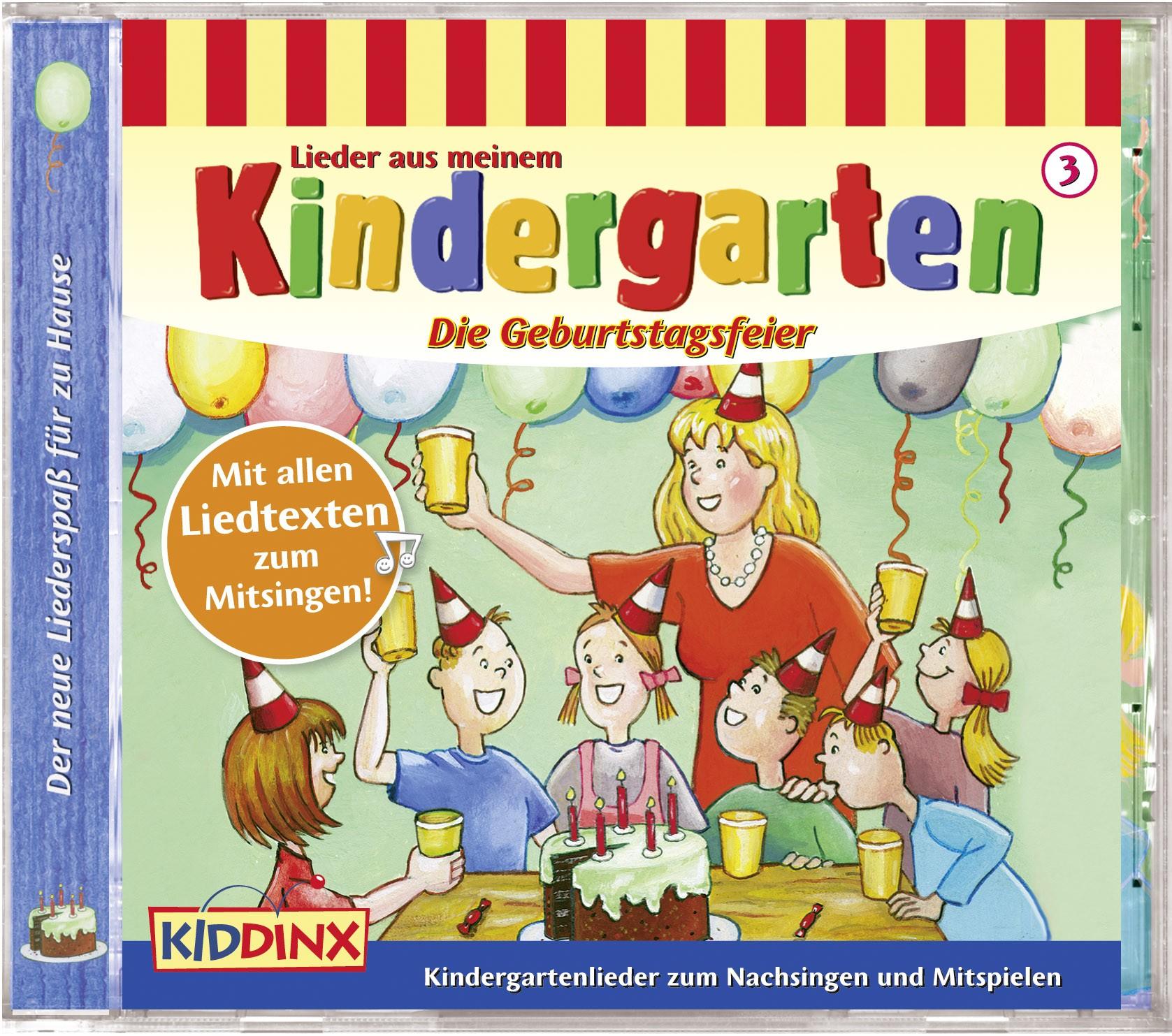 Lieder aus meinem Kindergarten: Die Geburtstagsfeier (Folge 3)