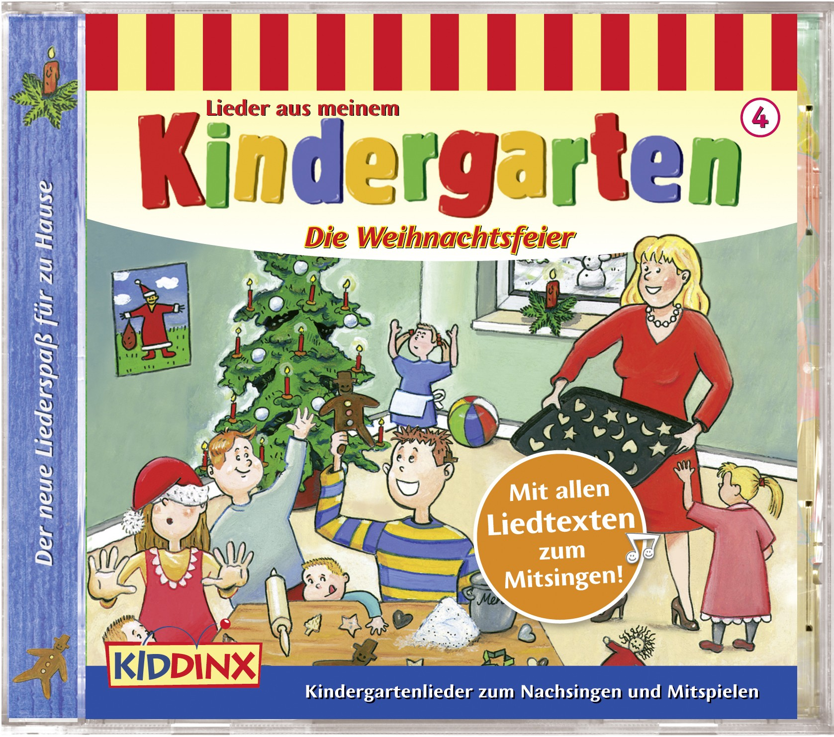 Lieder aus meinem Kindergarten: Die Weihnachtsfeier (Folge 4)