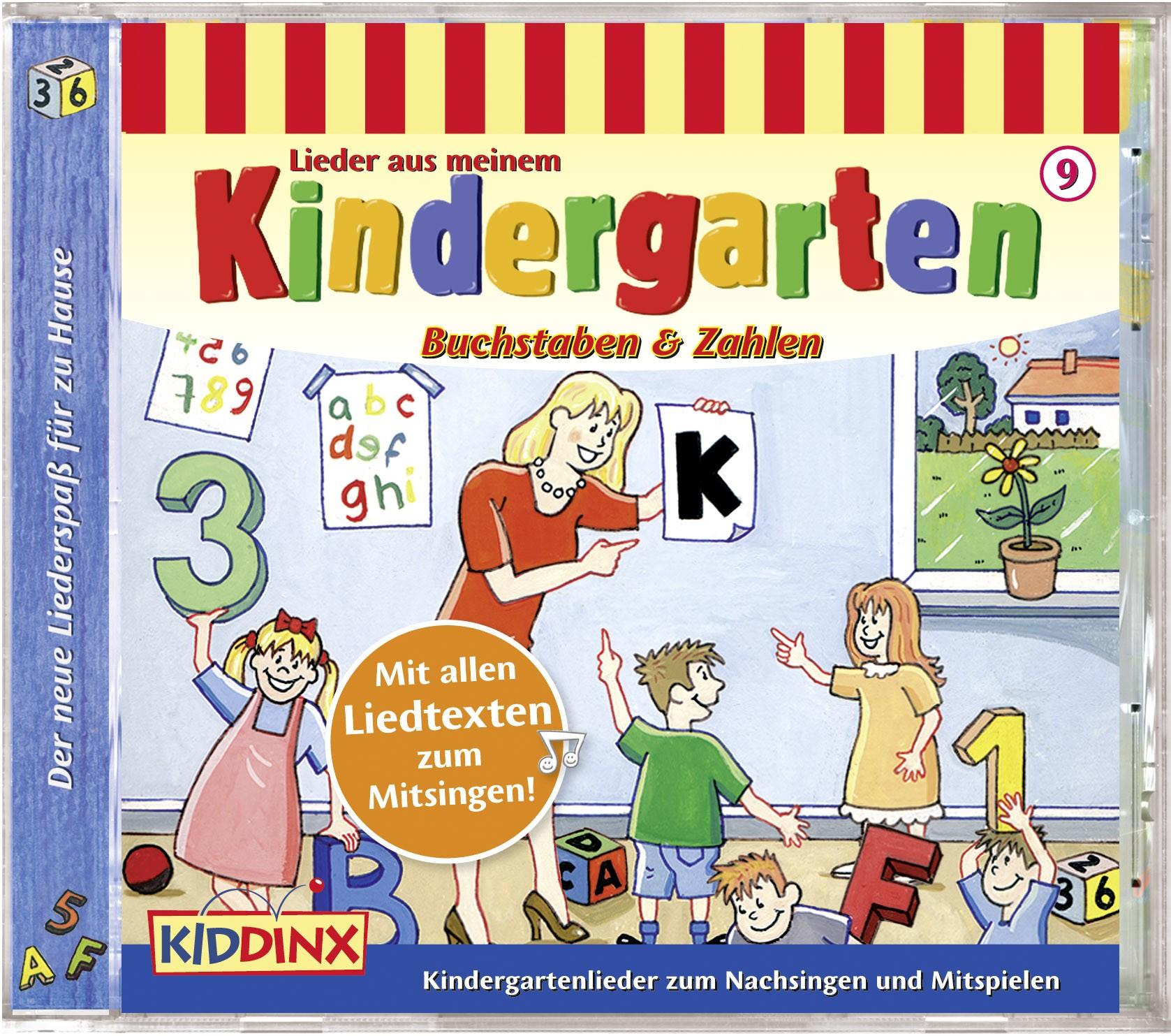 Lieder aus meinem Kindergarten: Buchstaben und Zahlen (Folge 9)