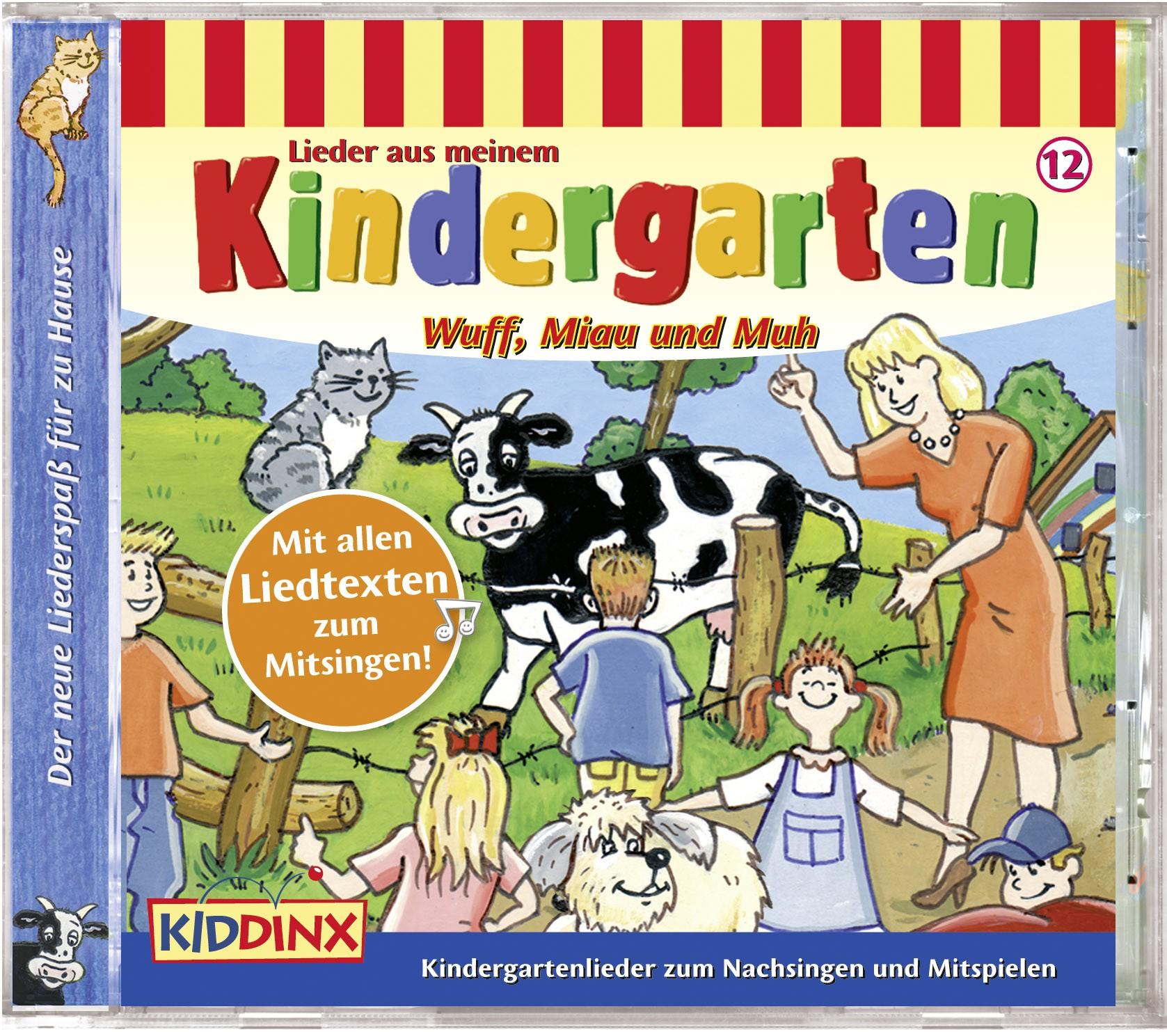Lieder aus meinem Kindergarten: Wuff, Miau und Muh (Folge 12)