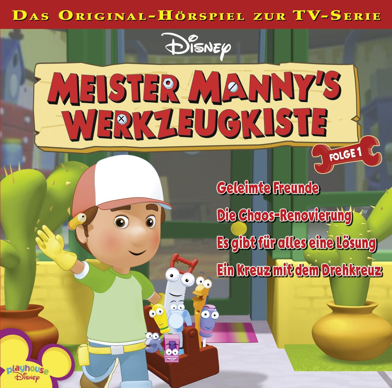 Meister Manny´s Werkzeugkiste: Geleimte Freunde / .. (Folge 1)