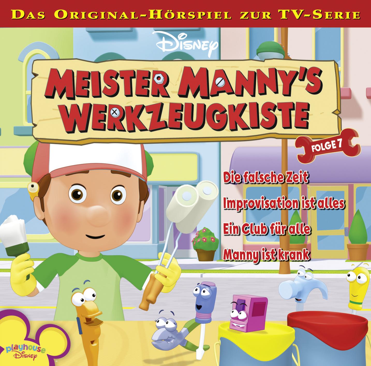 Meister Manny´s Werkzeugkiste: Die falsche Zeit / .. (Folge 7)