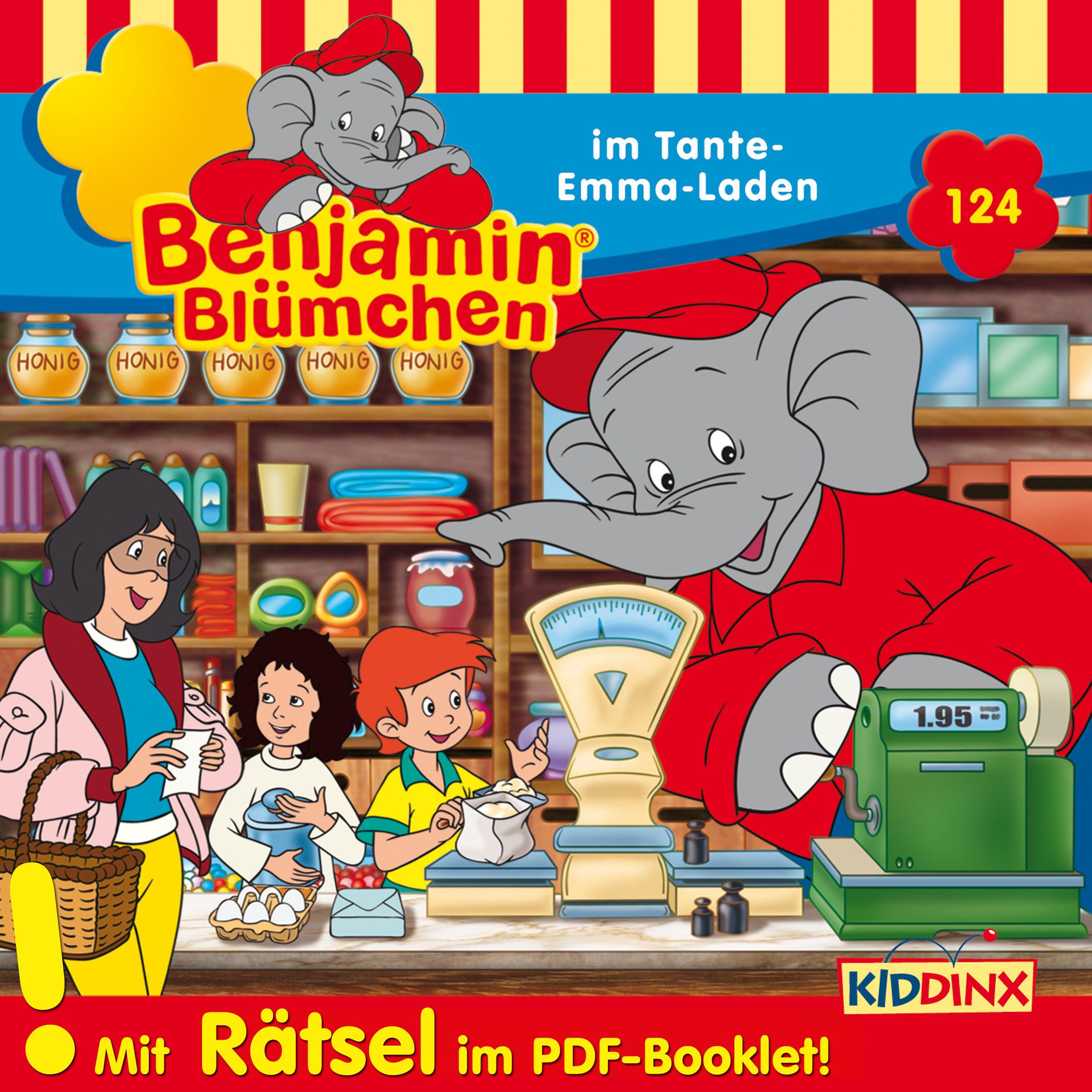Benjamin Blümchen: Im Tante Emma-Laden (Folge 124)