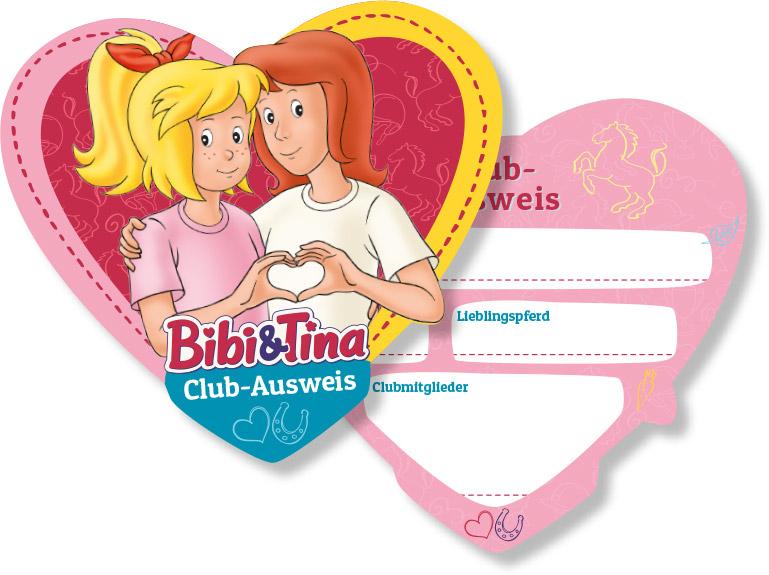 Bibi & Tina: 6 Clubausweise