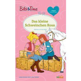 bibi  tina: das kleine schweinchen rosa - erstlesebuch 1.klasse
