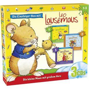 Leo Lausemaus 3er Box Einsteiger-Box