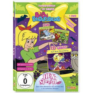 Bibi Blocksberg: 2er Box DVD+CD Hex-Special